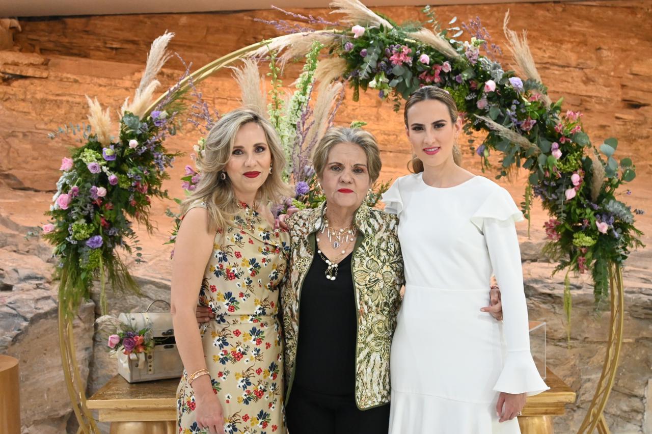 Begoña Lapeyre, Fernanda Perez y Fer Blackaller