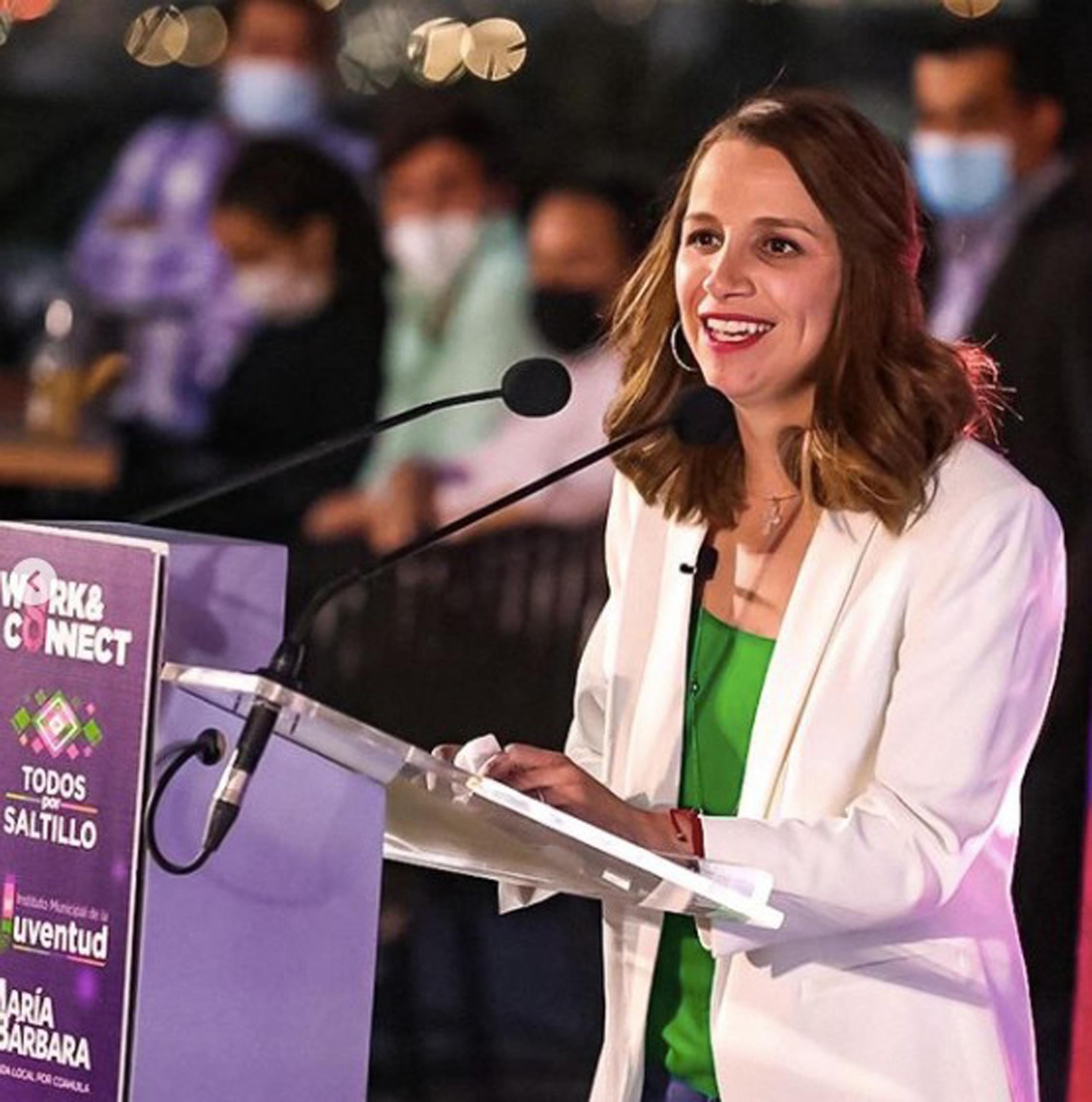 María Bárbara Cepeda.