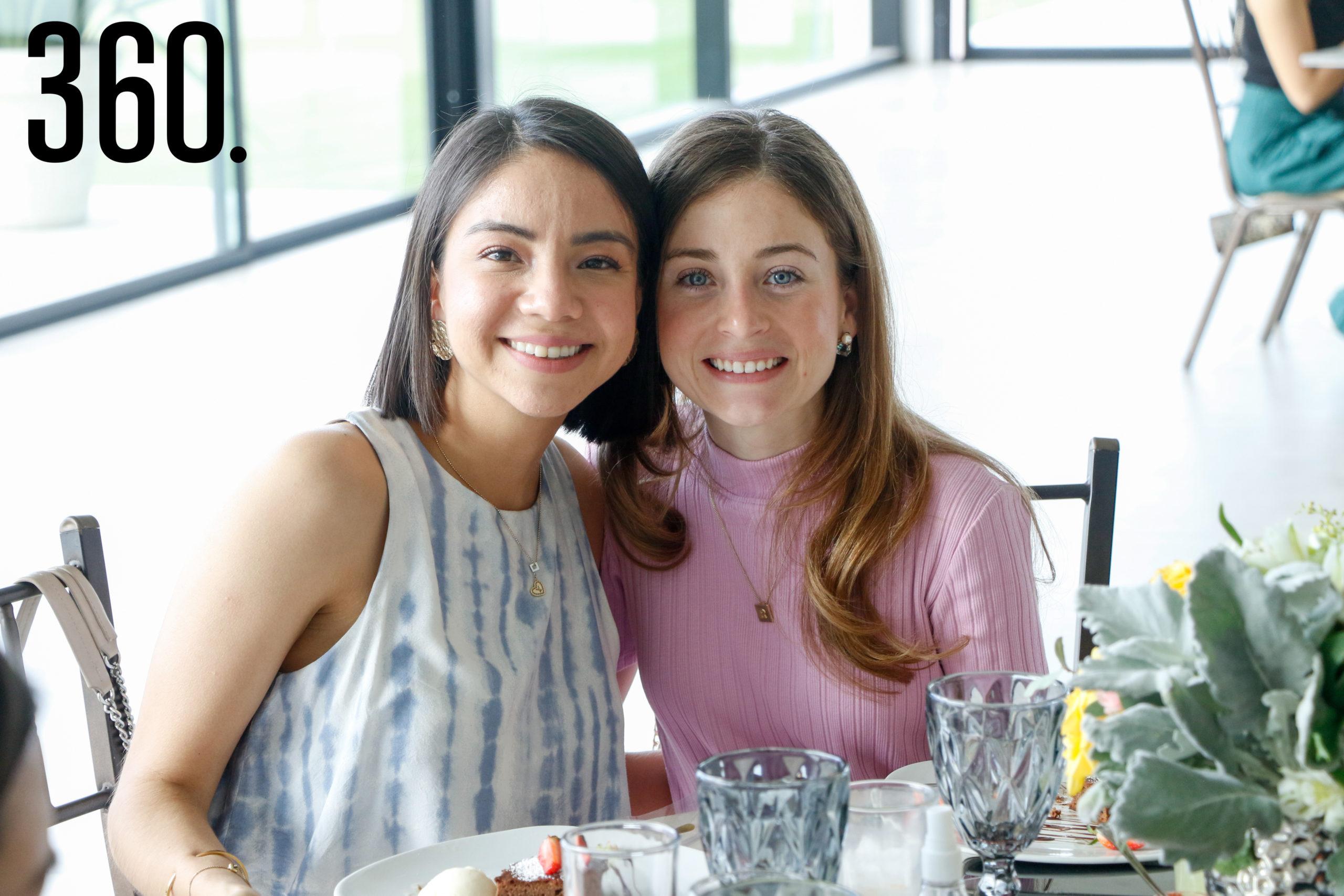 Sofía López y Ana Navarro.