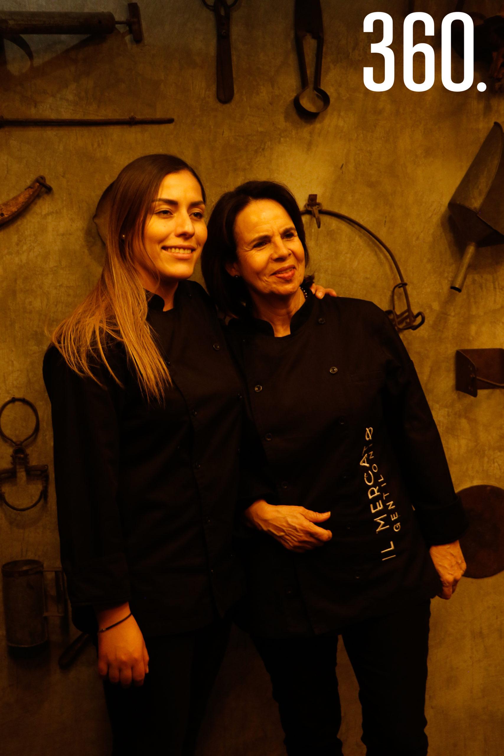 Daniela Pérez y Adriana Talamás.