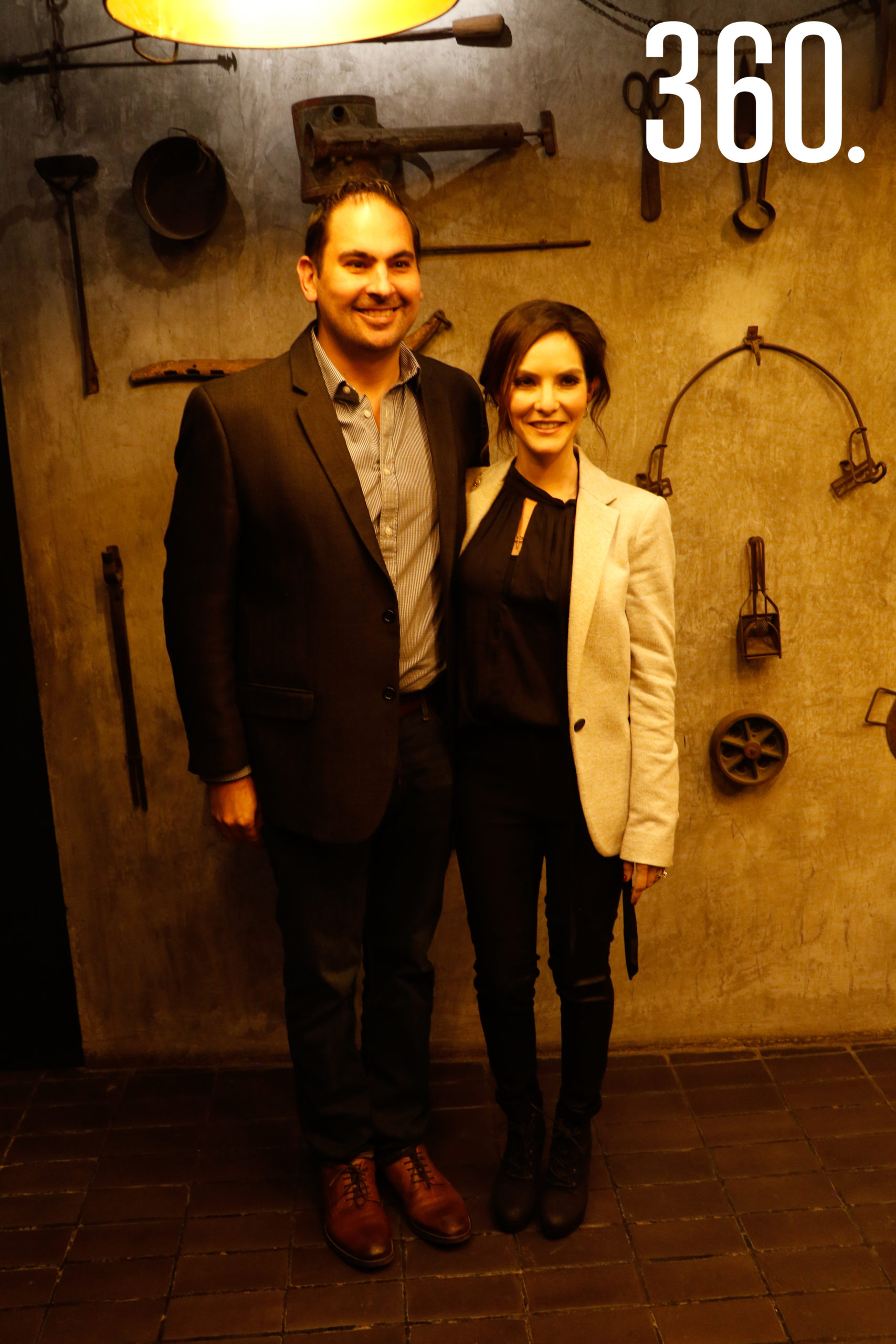 Bernardo Quintanilla y Alejandra Gloria.