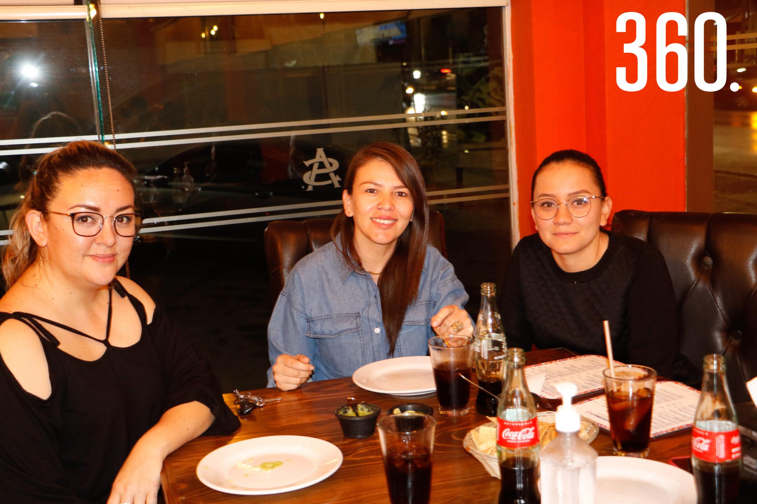 Nadia Ontiveros, Karen Garza y Ana Sofía Delabra