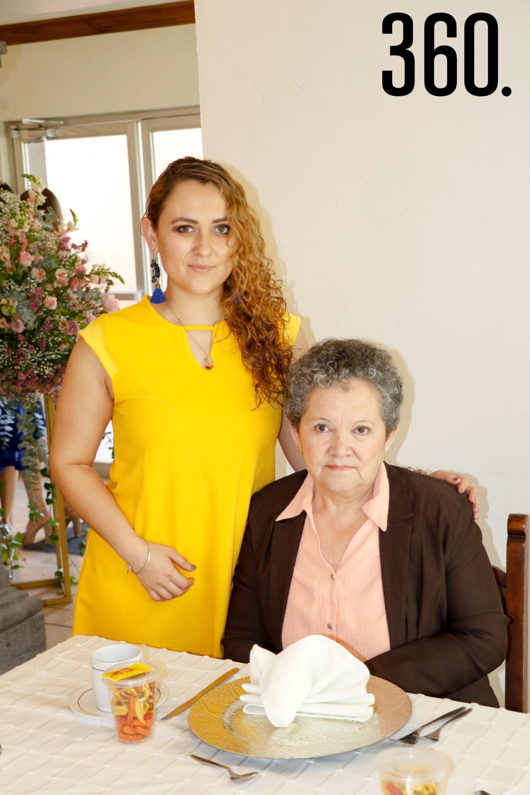 Rigel Jaramillo y Estela Herrera.