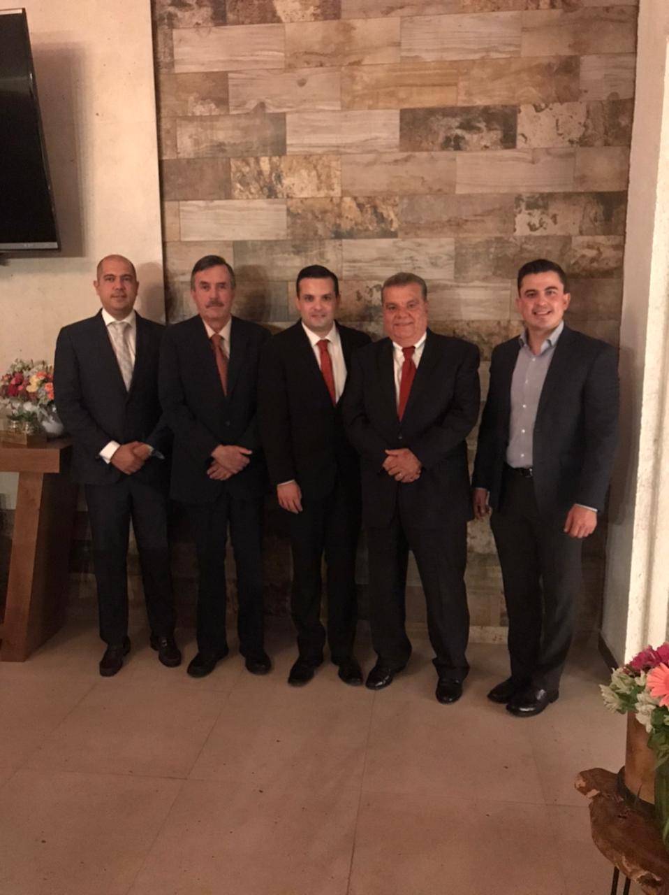 Luis Aguilar, Sergio Garza Orta, Sergio Garza Mireles, Rey Pereznegrón y Fabián Núñez.