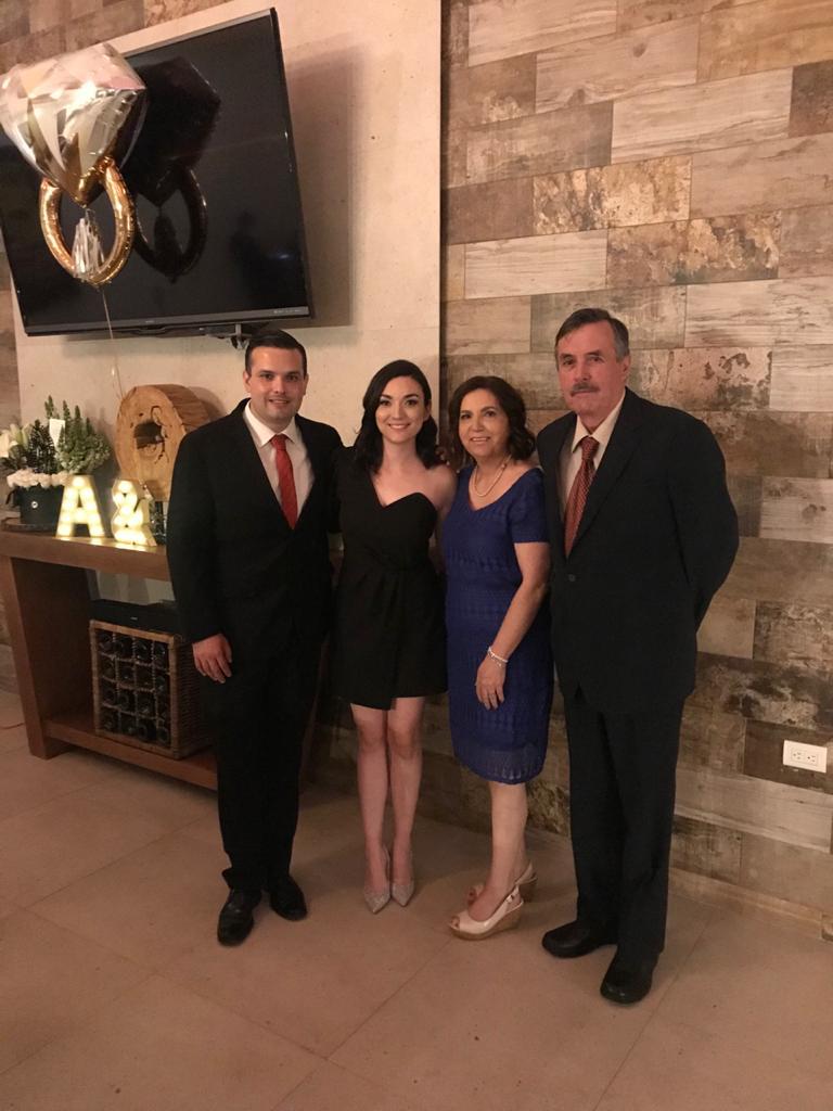 Sergio Garza Mireles, Alicia Garza, Alicia Mireles y Sergio Garza Orta.