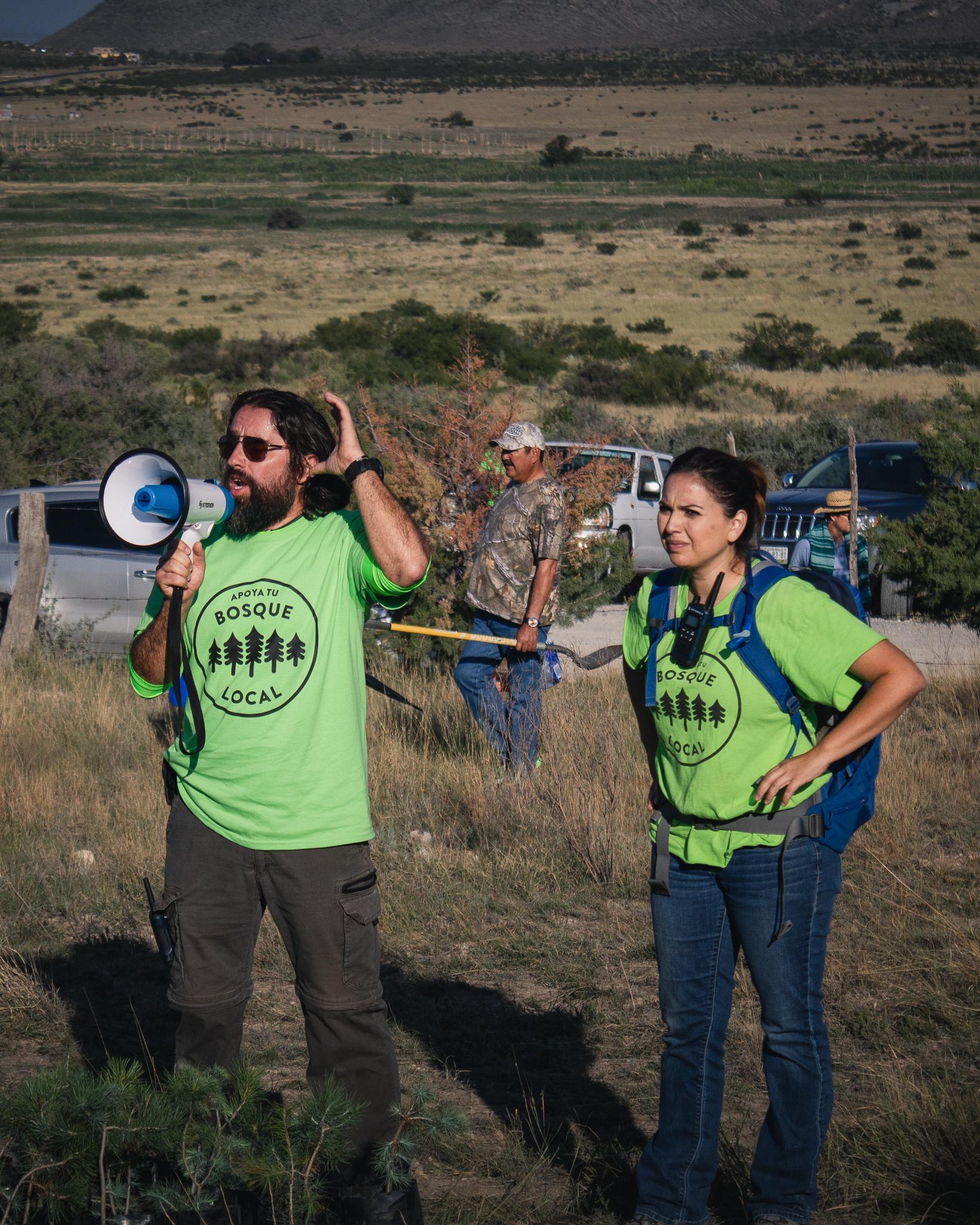 Alejandro y Sofía, fundadores de la organización sin fines de lucro.