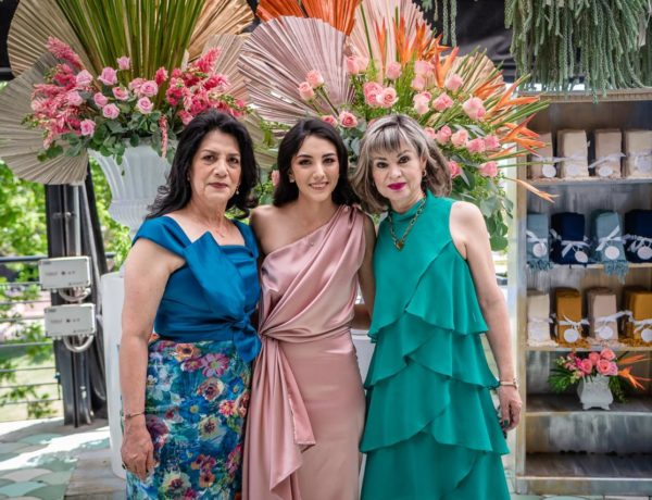 María Elena Vázquez, Paola Rodríguez y Laura Patricia García.
