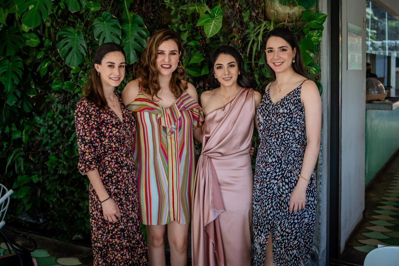Marygaby Morales, Ana Tere Calderón, Paola Rodríguez e Isabel Garza.