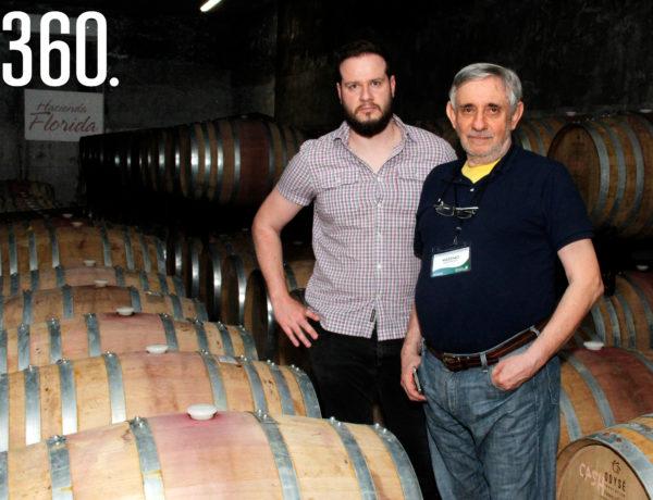 """Diego Ruzzarin y Massimo Martinoti fueron conferencistas en el evento """"All Members Meeting"""", realizado en el Viñedo Hacienda Florida."""