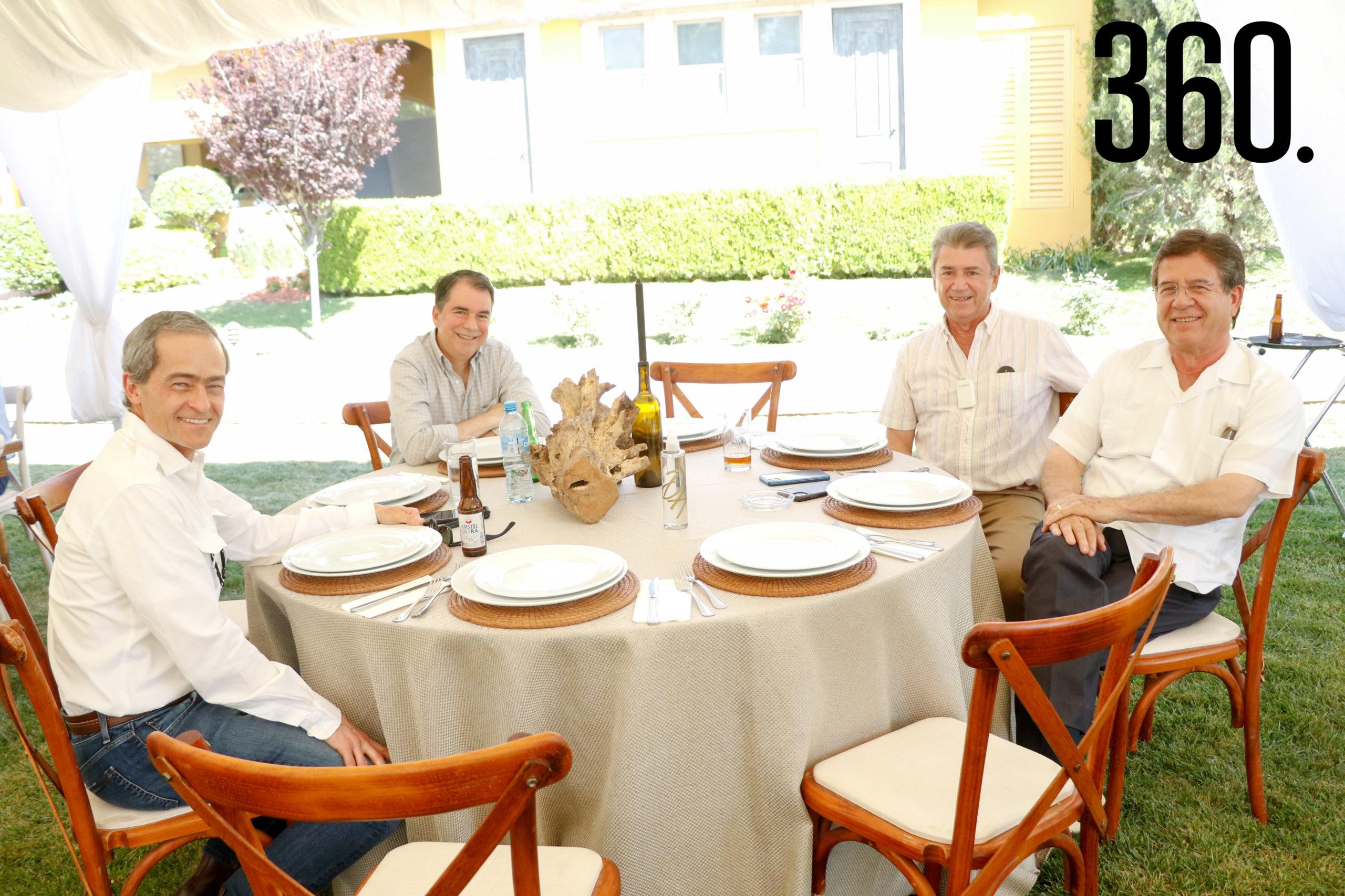 Luis Arizpe, José Luis Rodríguez, Fernando Morales y Rodolfo Guitérrez.