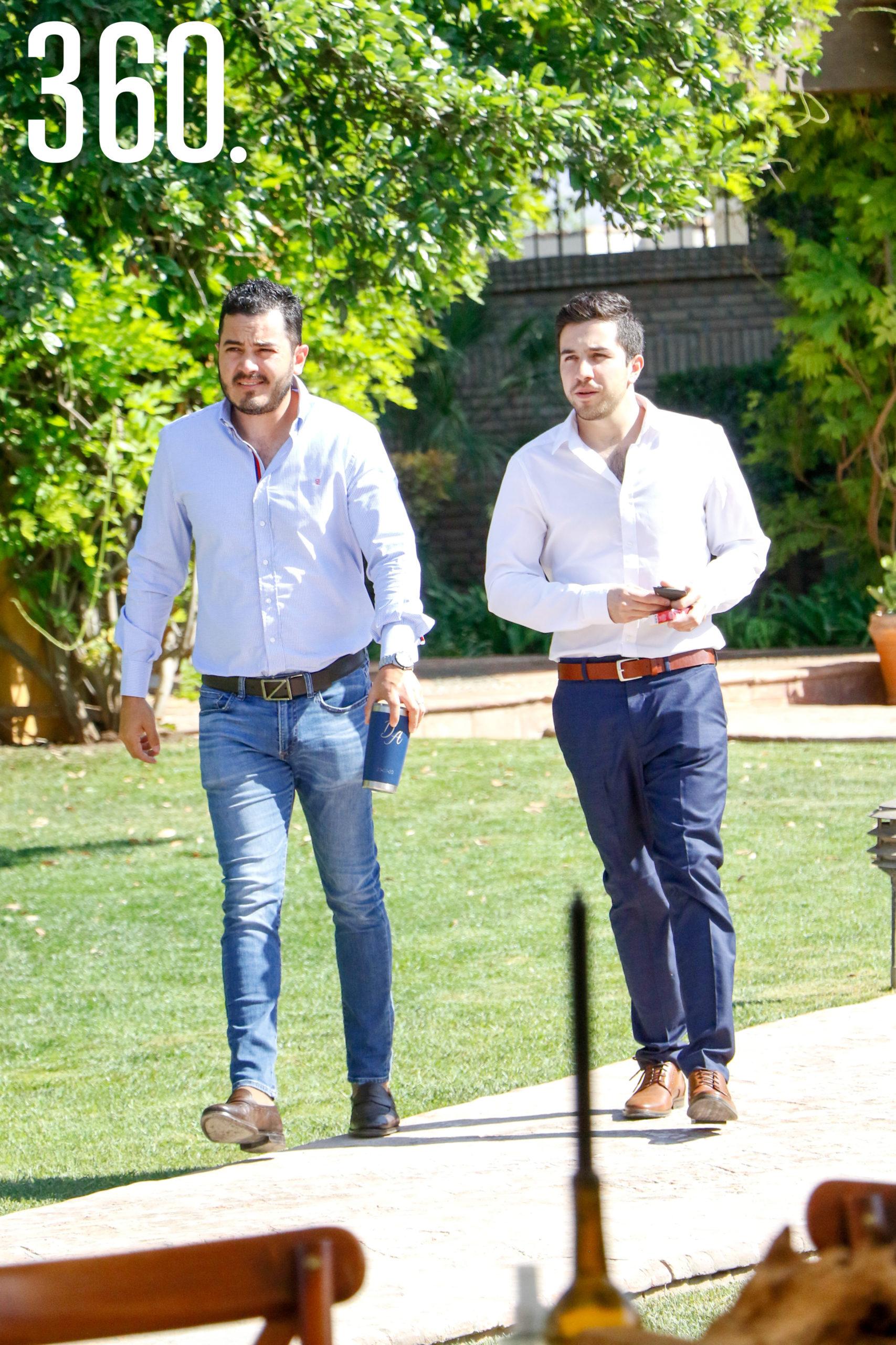 Luis Homero Canales y Guillermo Treviño.