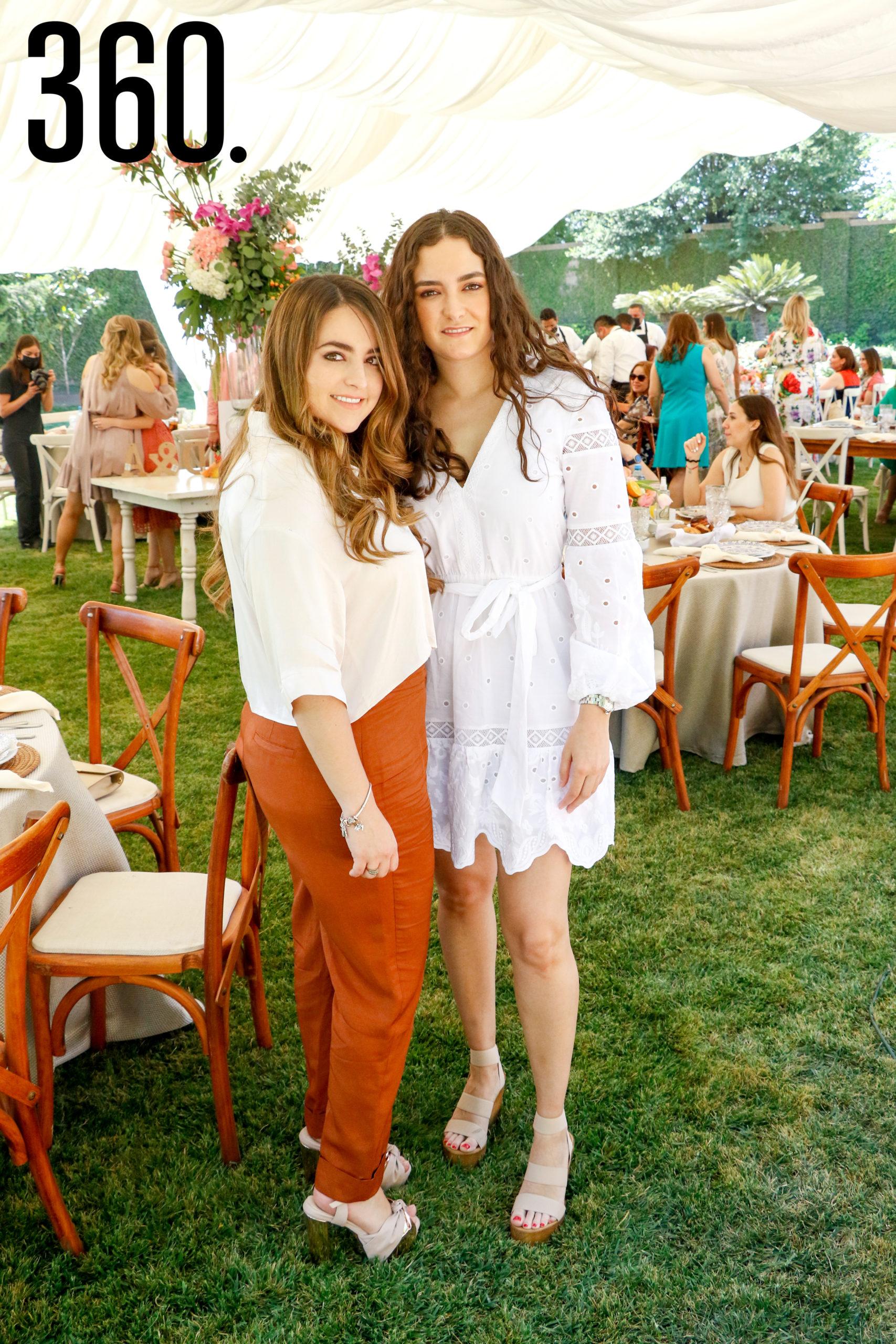 Malena Flores y Ana Gaby López.