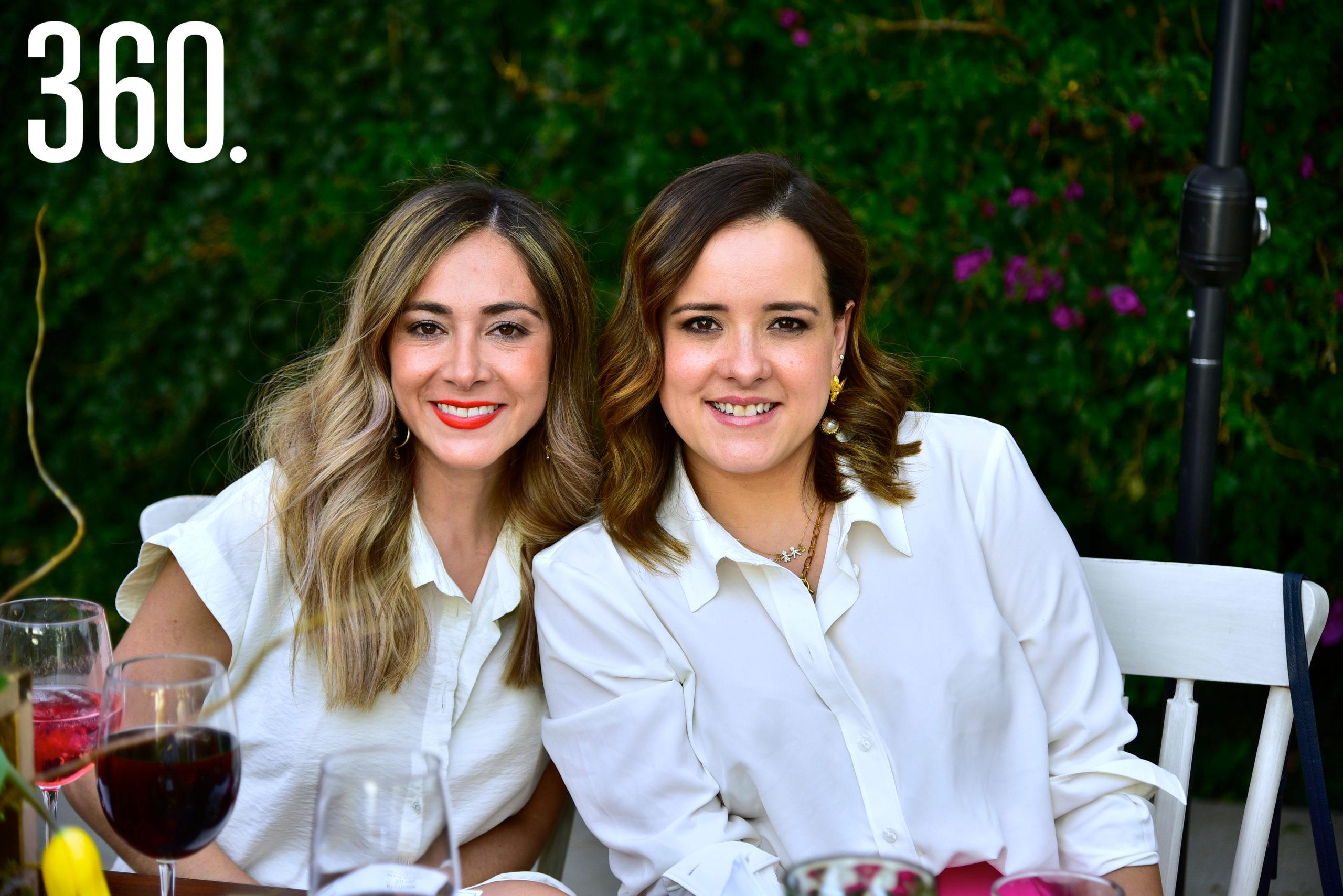 Liliana Mitre y Sandra Castillo.