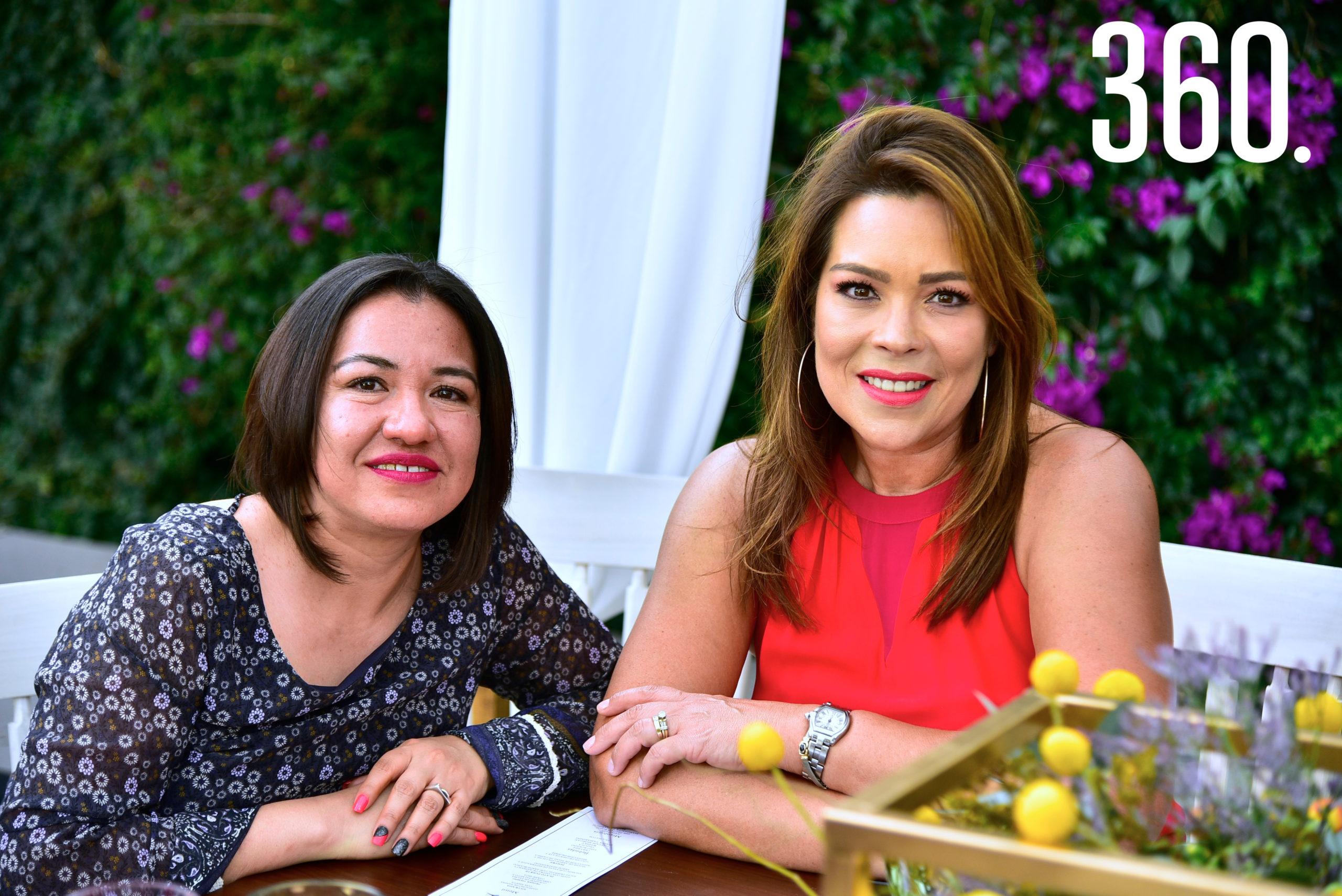 María José Cepeda y Marcela Carrillo.