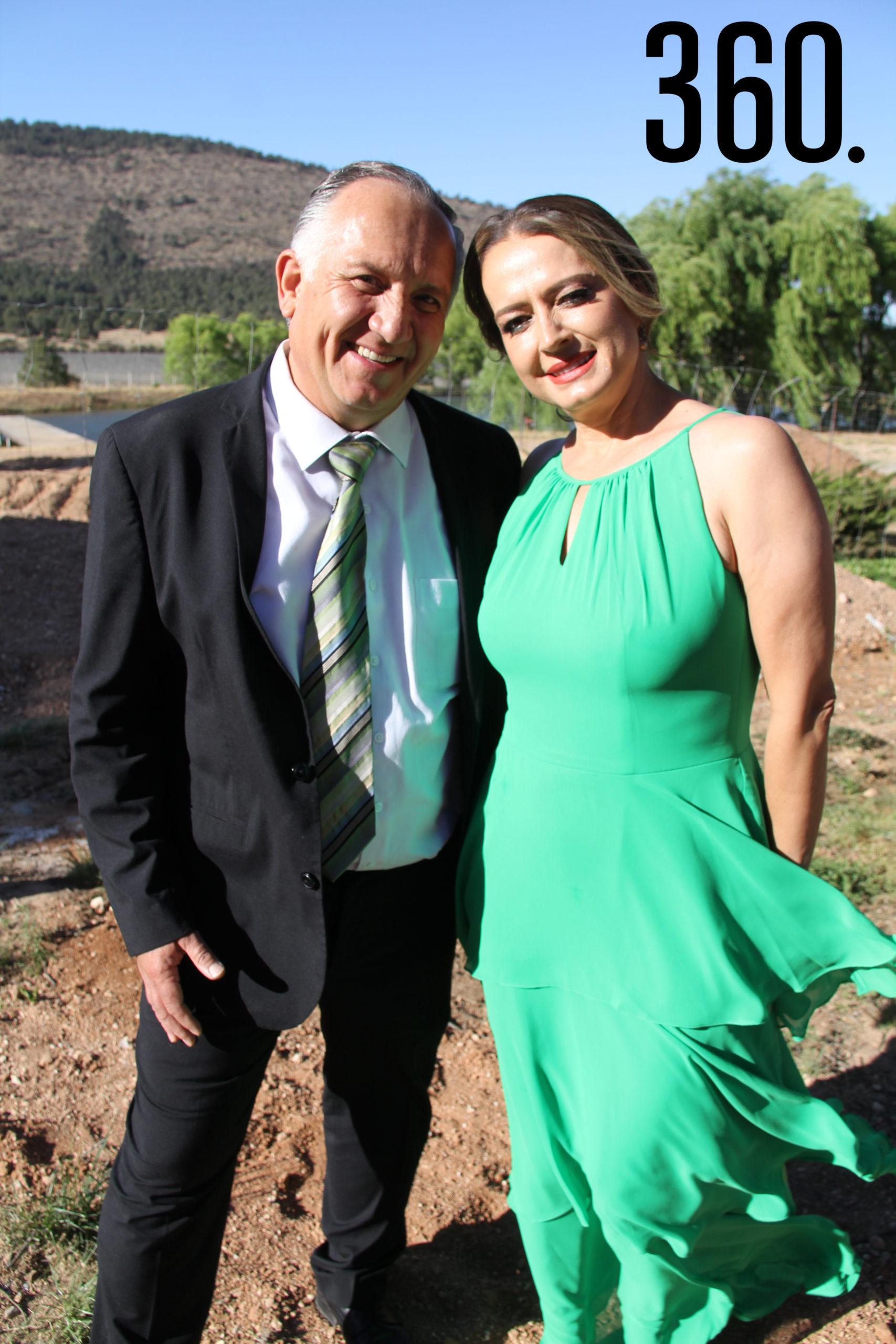 Carlos Lara y Natasha Pérez.