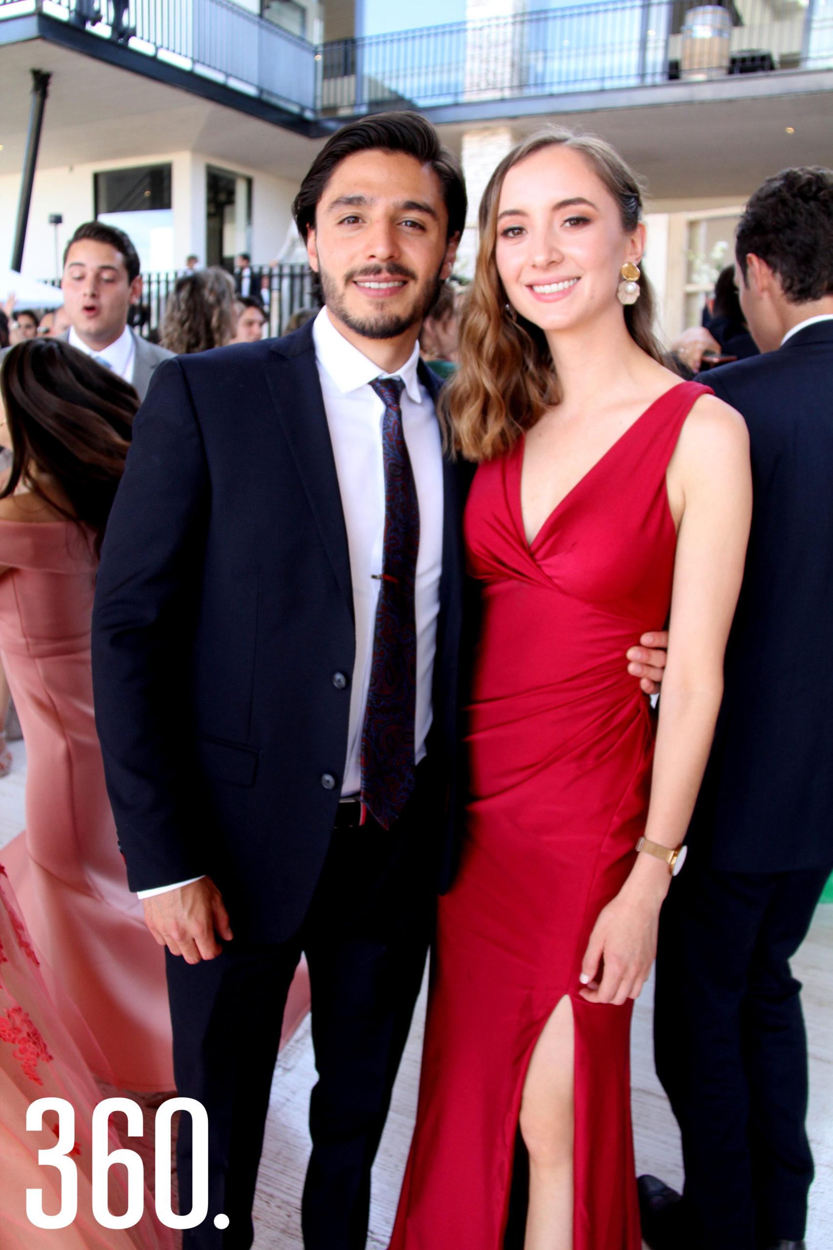 Daniel Gutiérrez y Gina Rodríguez.
