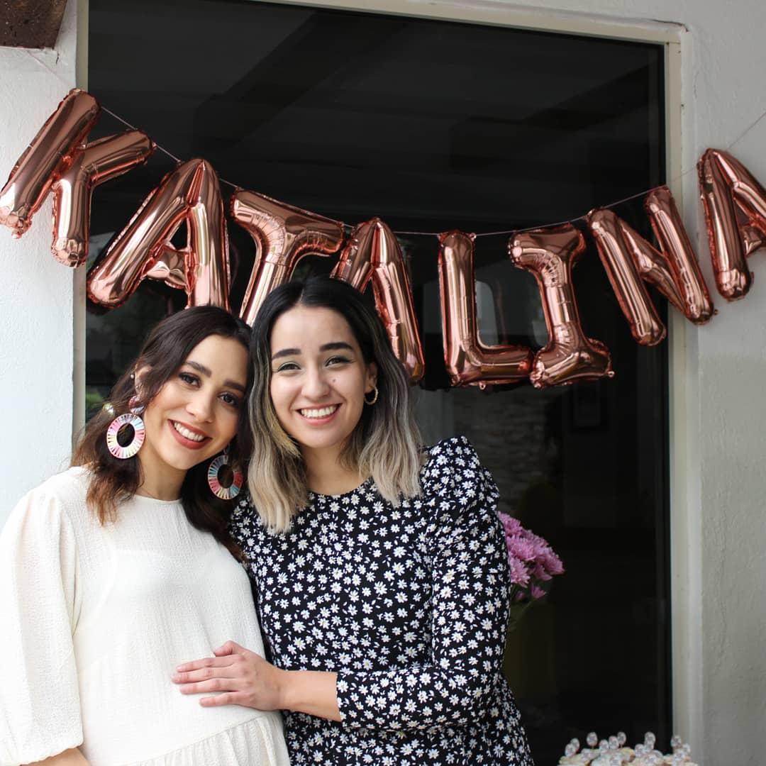 Paulina de la Torre y Andrea Hernández.