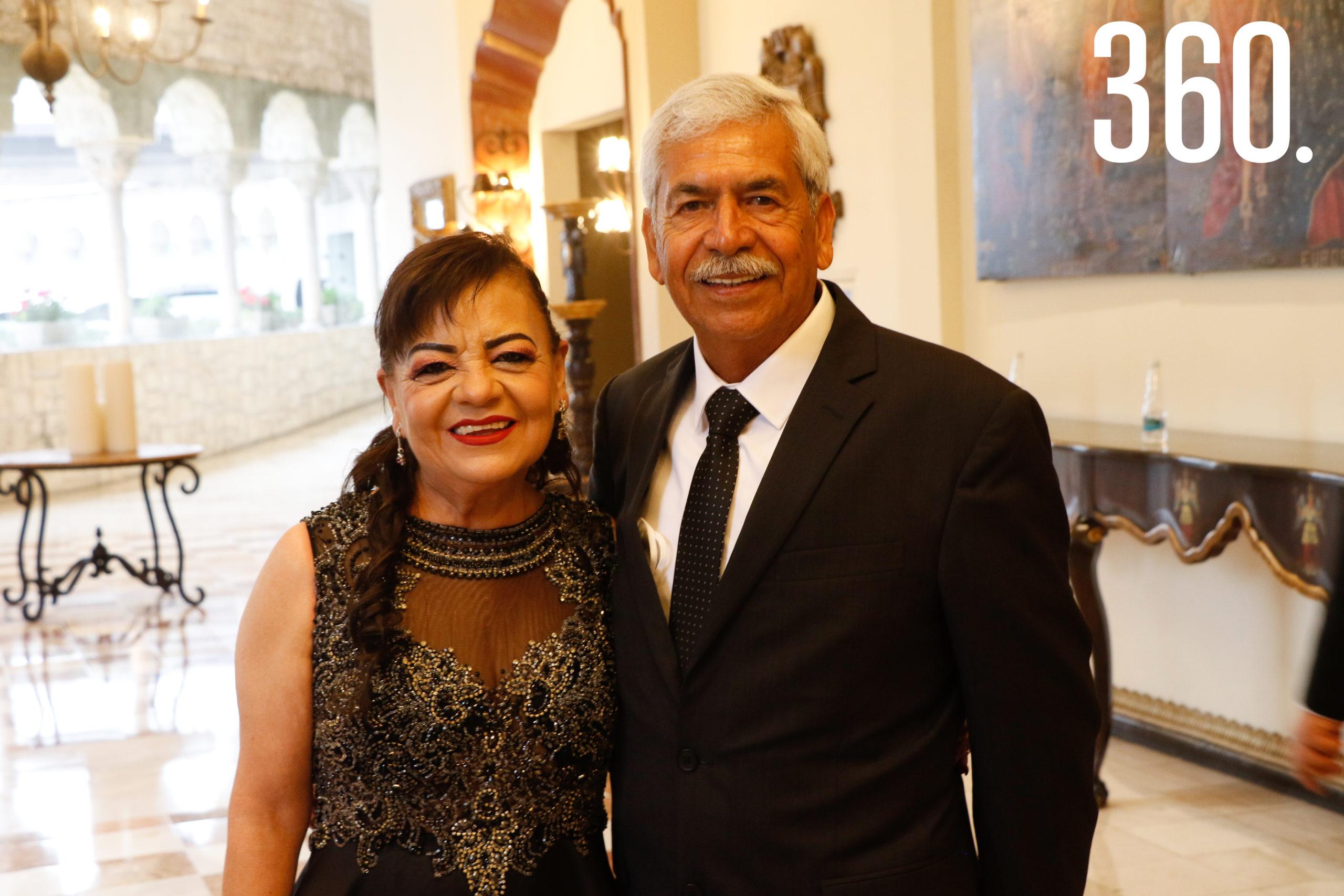 Ana María Viera y Juan Echavarría.