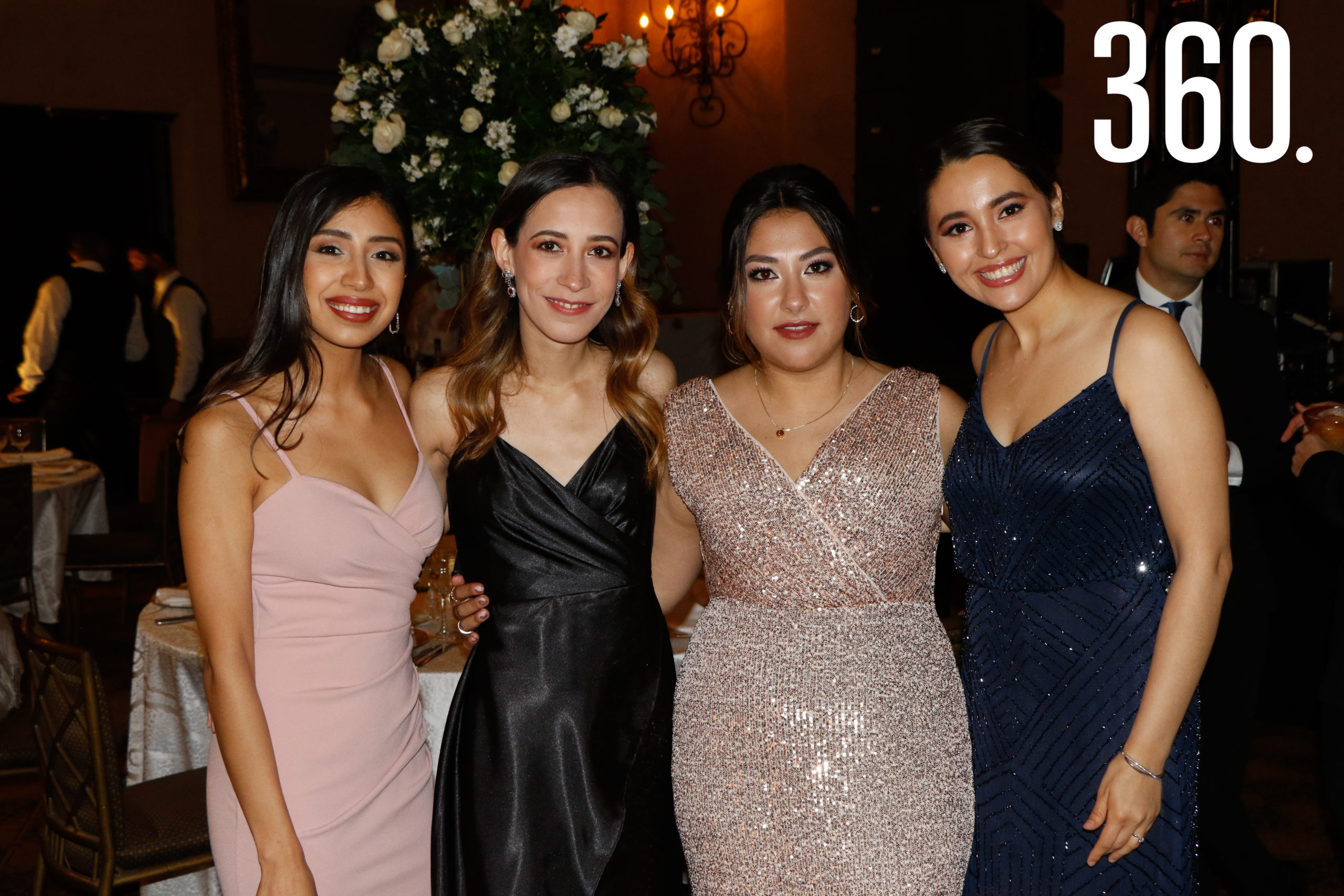 Samari Moreno, Carolina Borja, Lorena Dávila y Marijose Rodríguez.