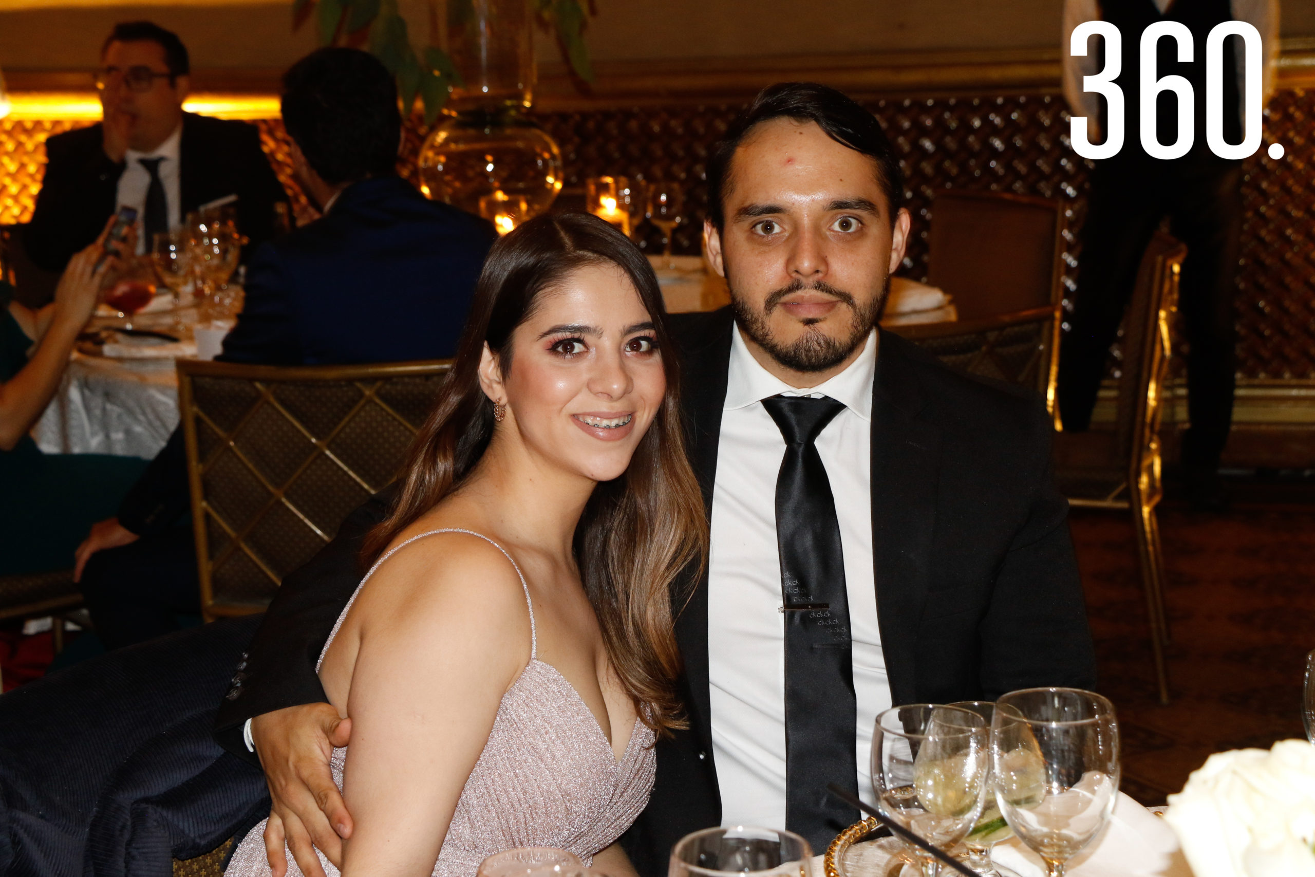 Diana Carvajal y Ricardo Martínez.