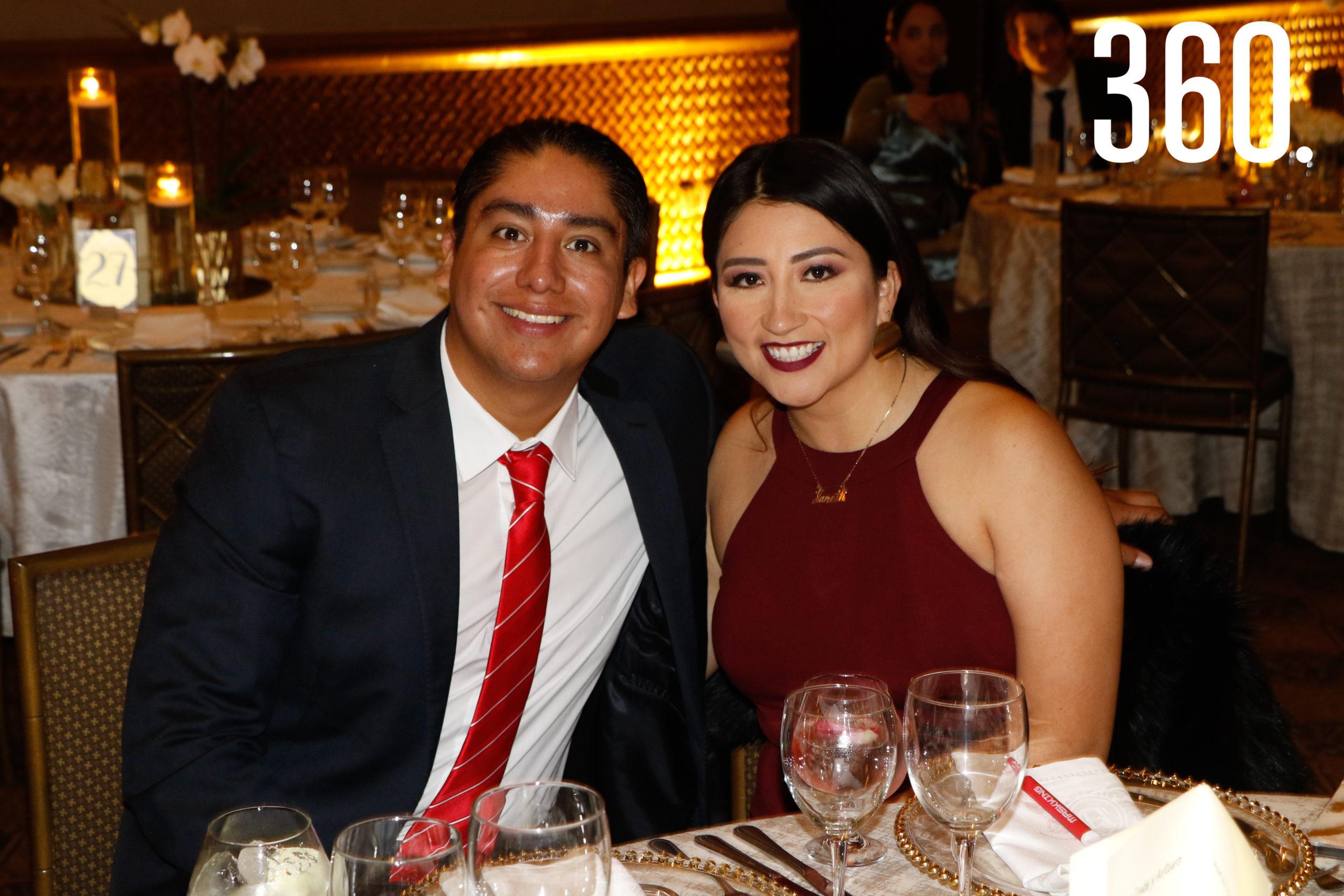 Jonathan Jiménez y Janeth Espinosa.