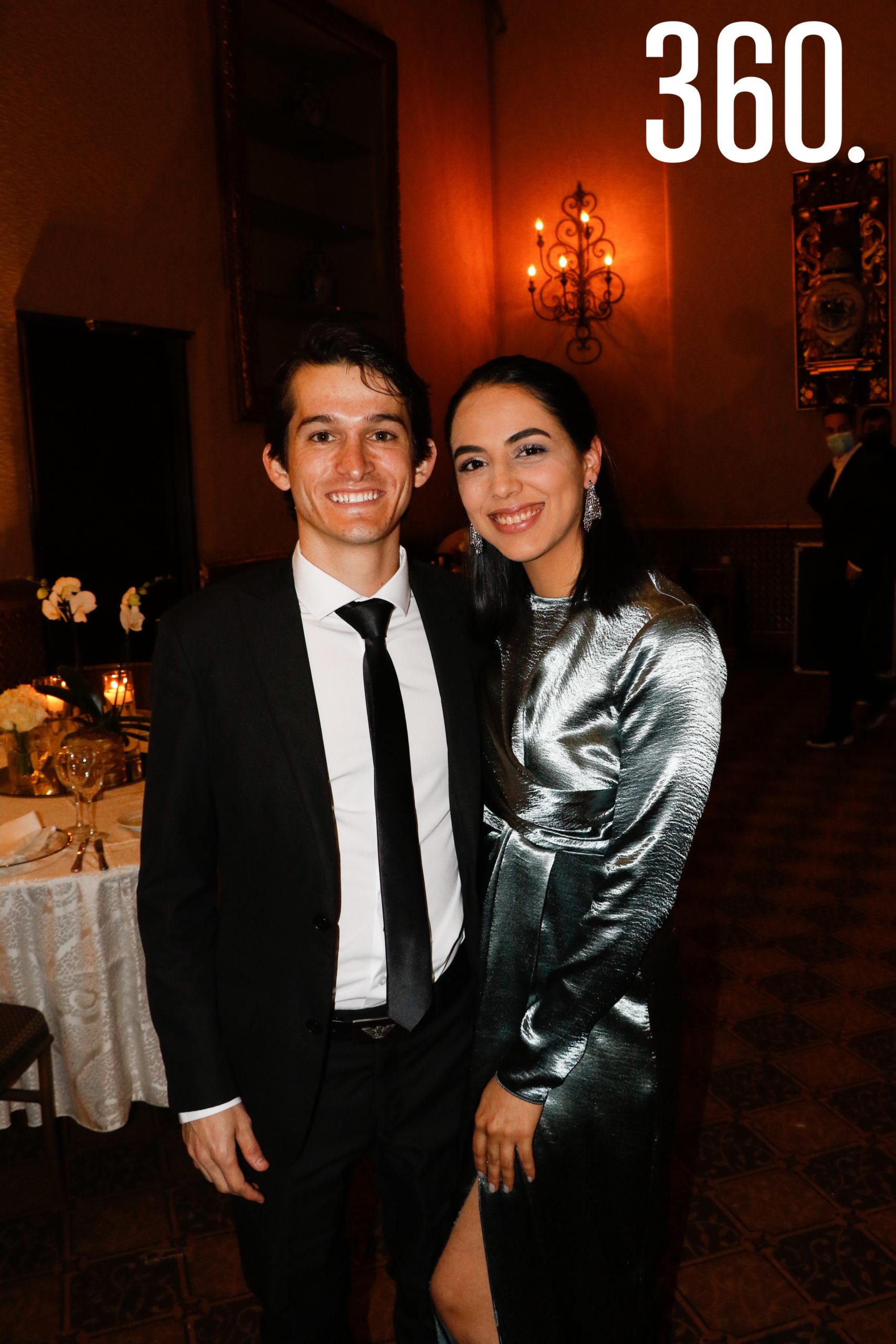 Alejandro Lozoya y Luisa Cárdenas.