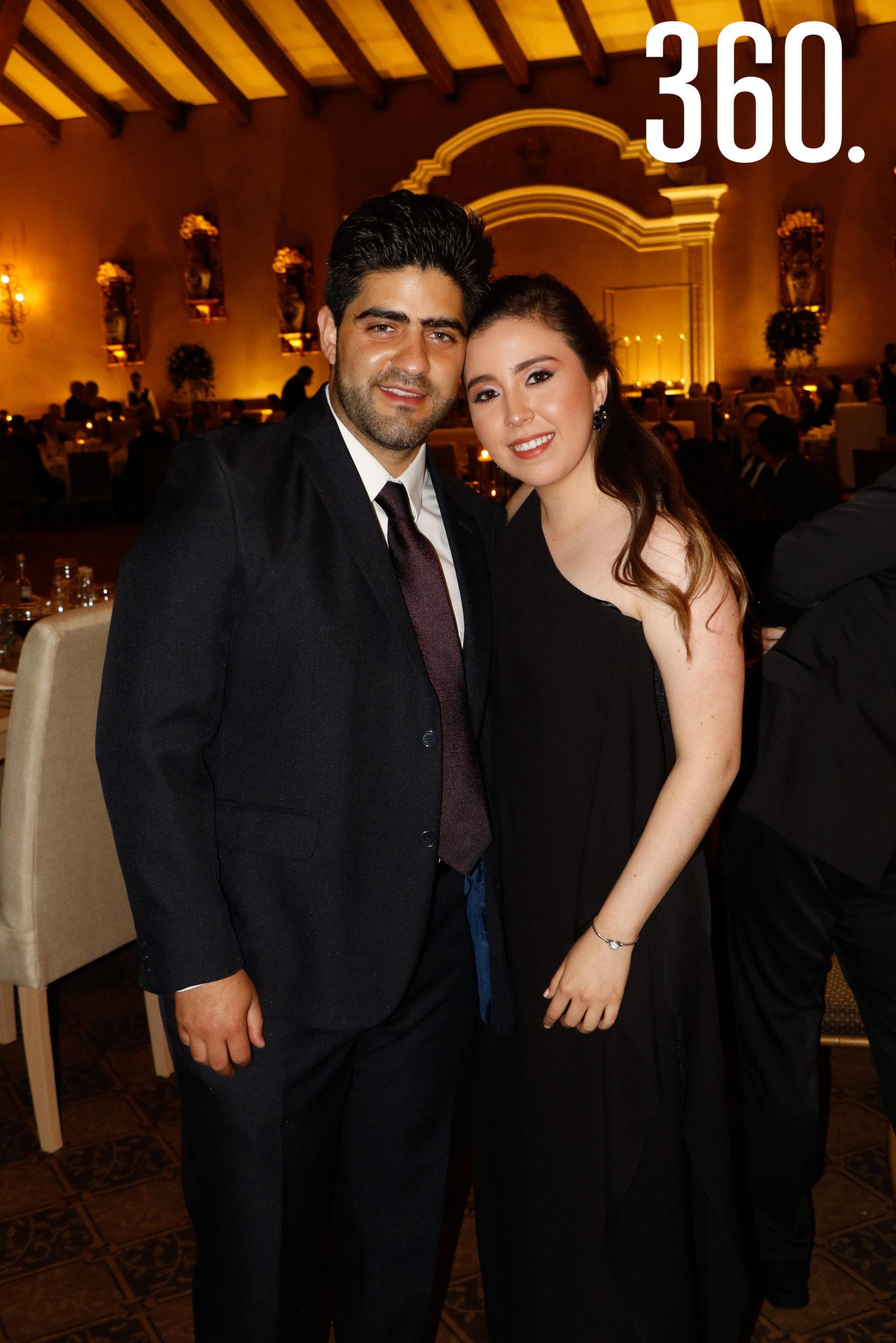 Víctor Campo y Alejandra Sandoval.
