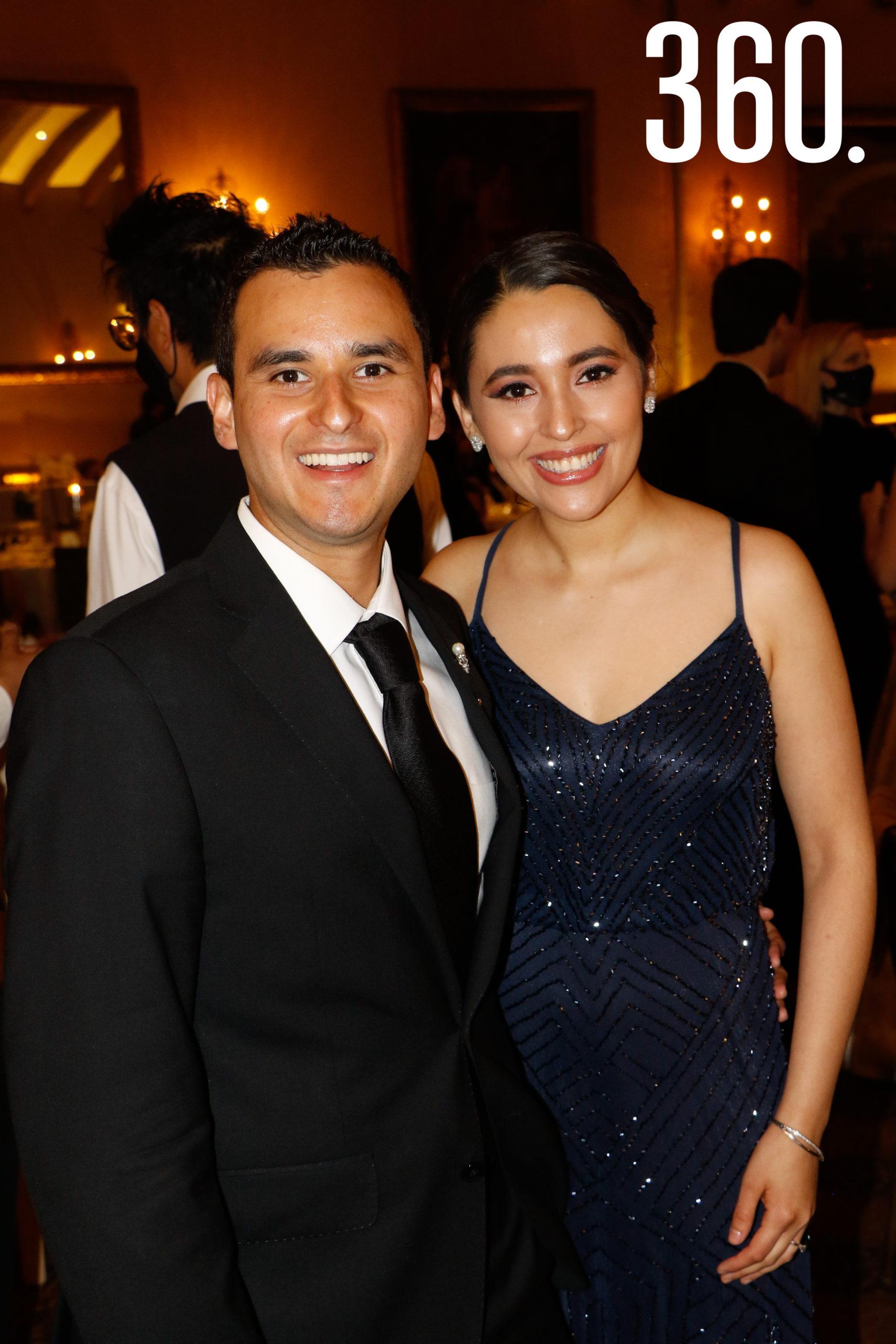 Mauricio Oyervides y Marijose Rodríguez.