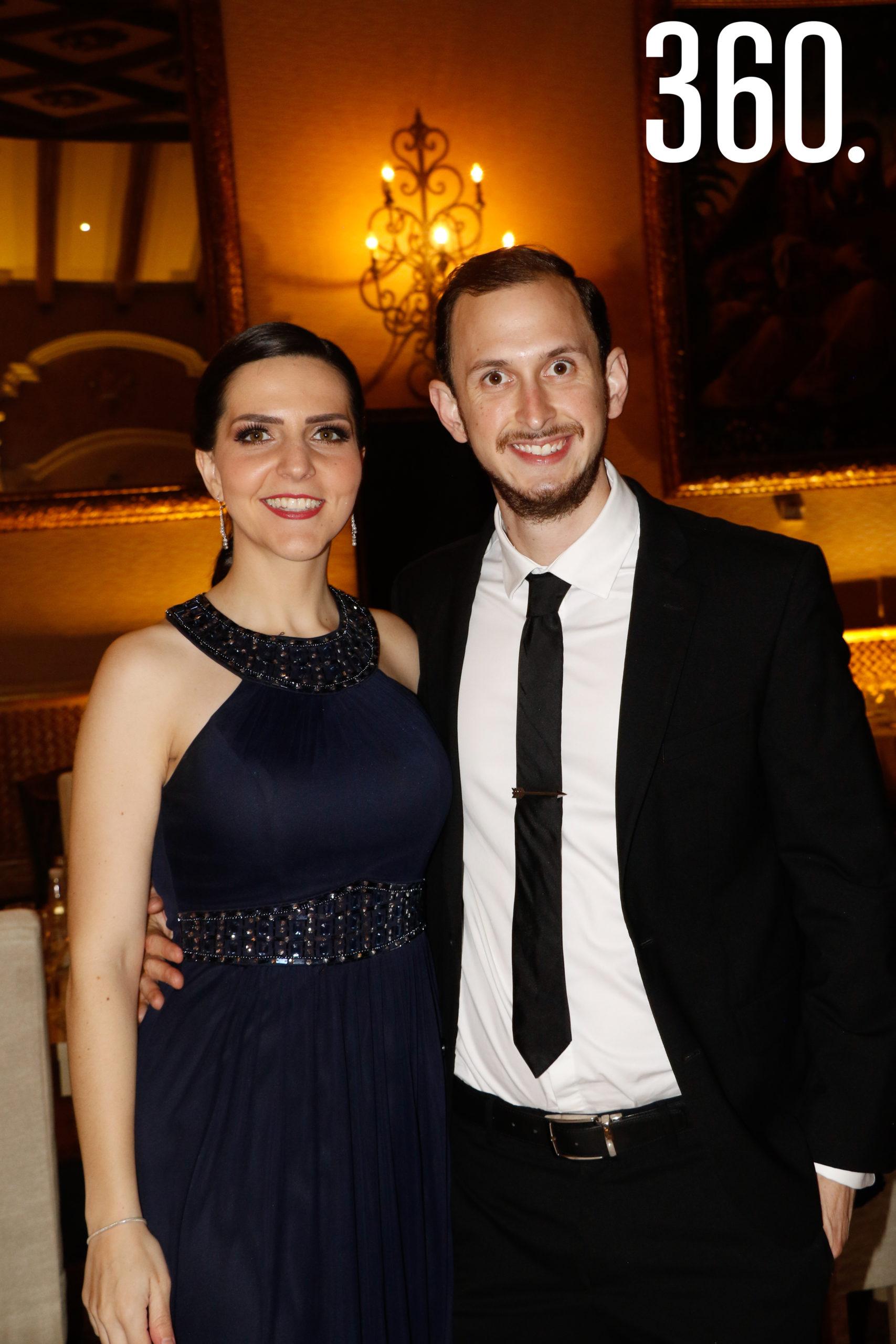 María José Treviño y José Luis Dávila.