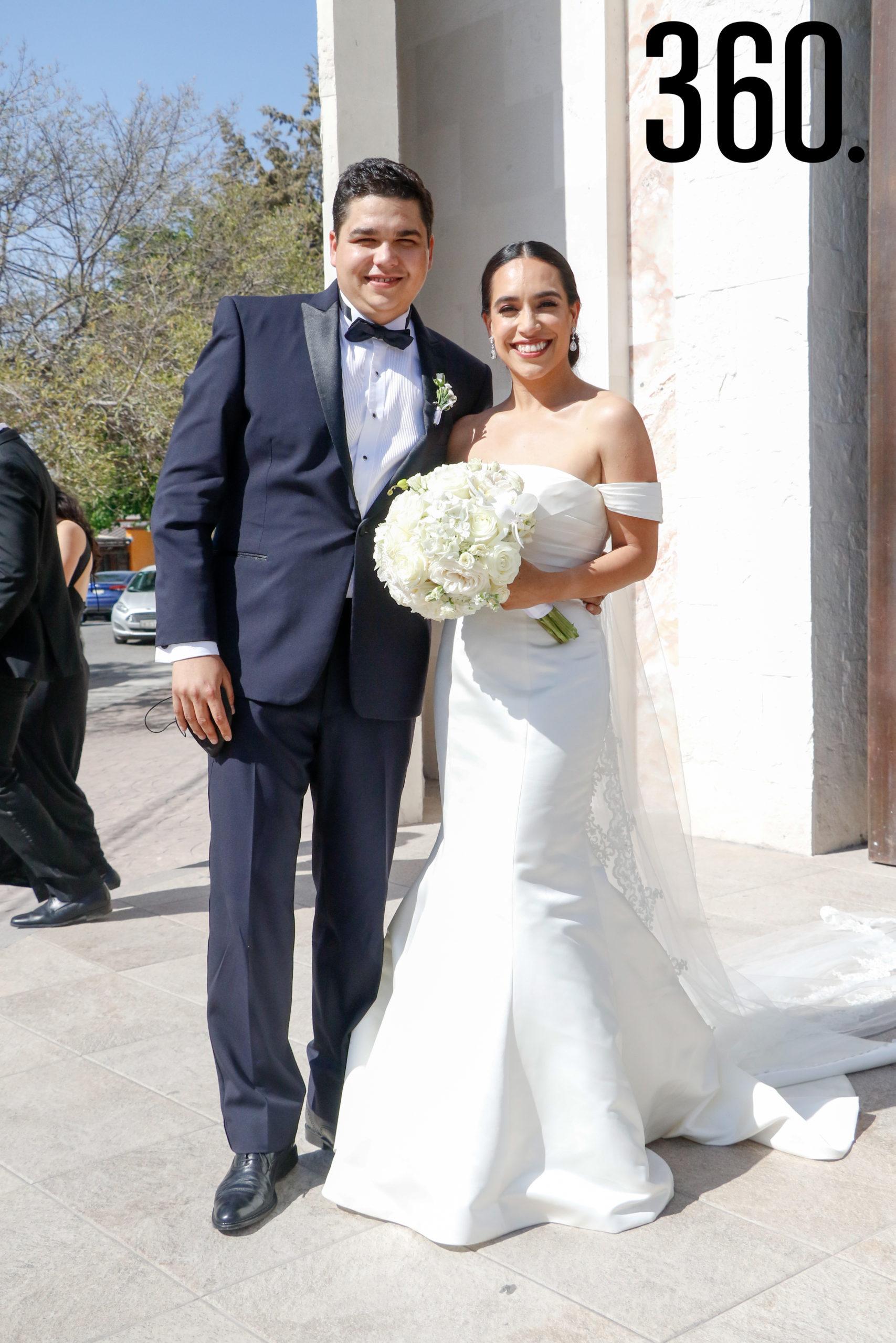 Alejandro Sánchez y Mariel de León.