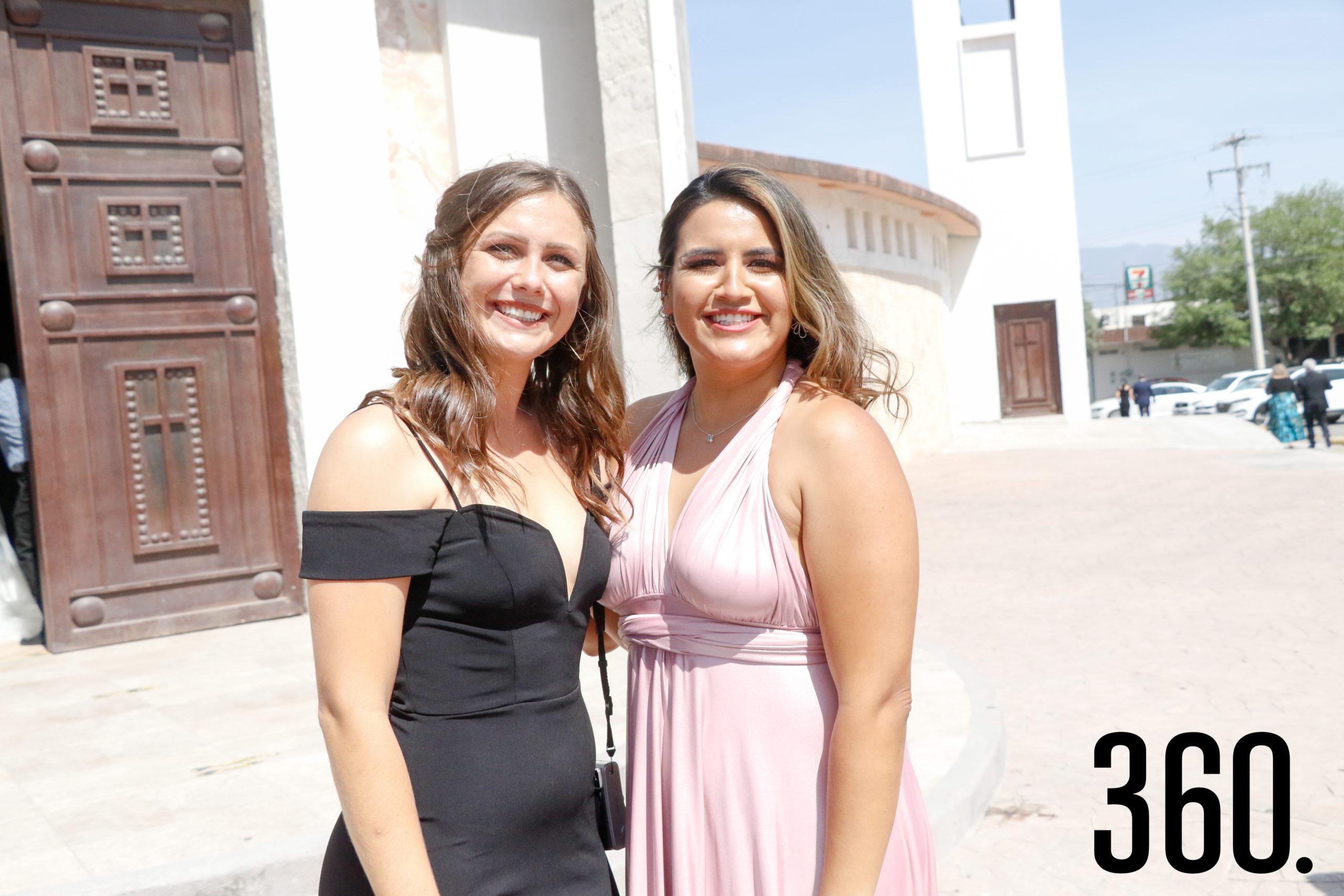 Samantha Redfern y Alejandra Orellano.