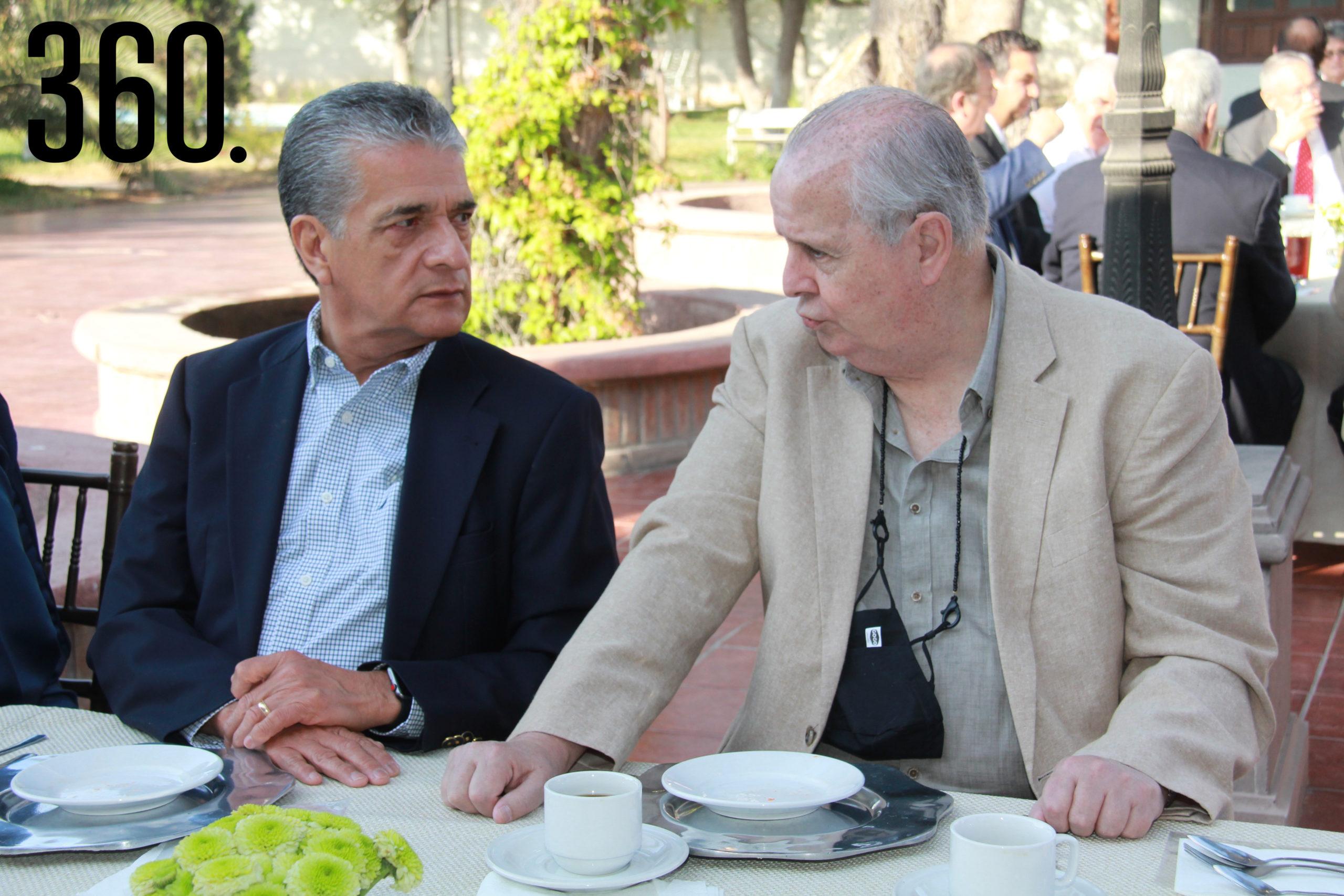 Gerardo Hernández y Daniel Calvert.