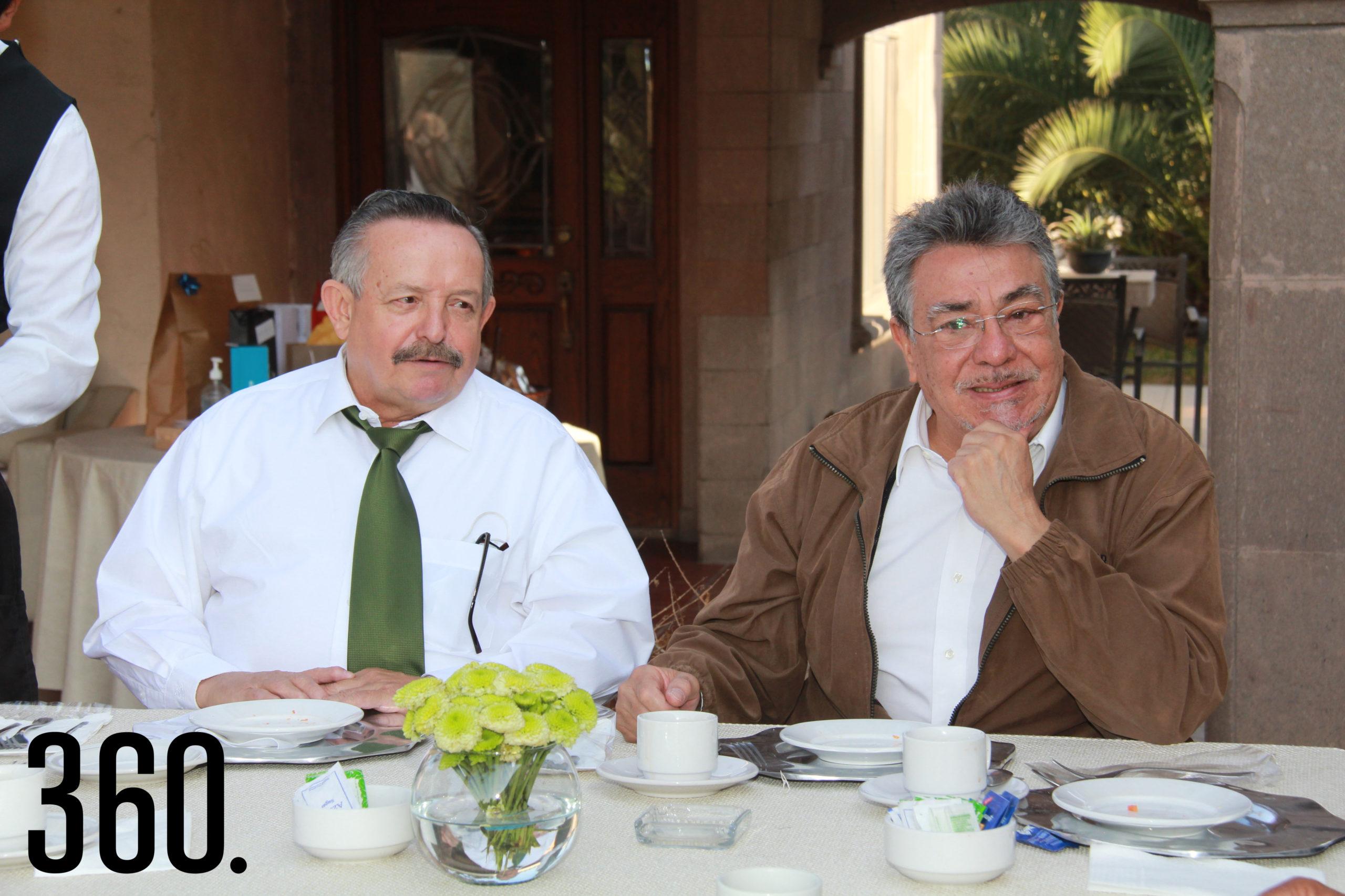 Benigno Gil y Jesús Valdés.