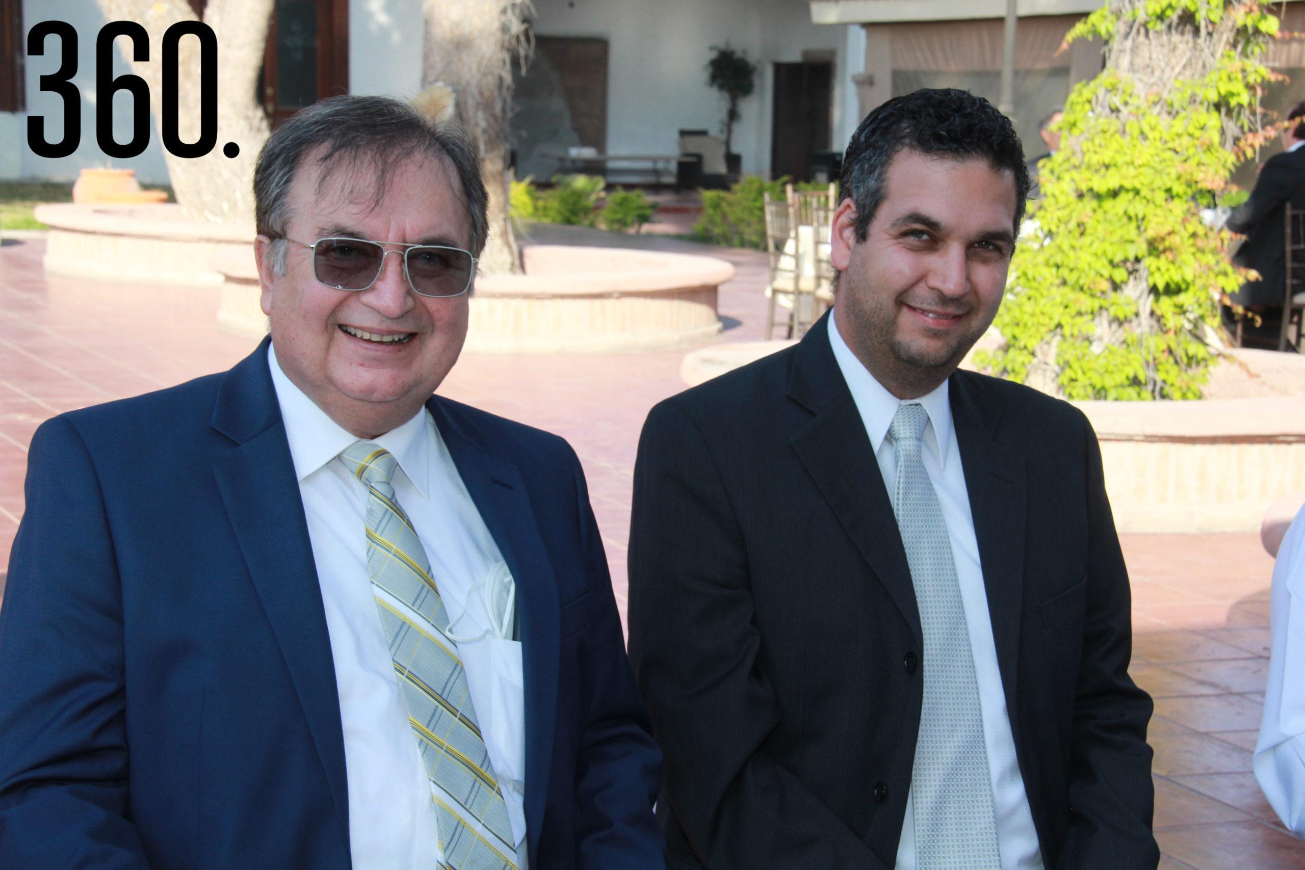 Elmer Aristeo Rocha y Elmer Rocha.