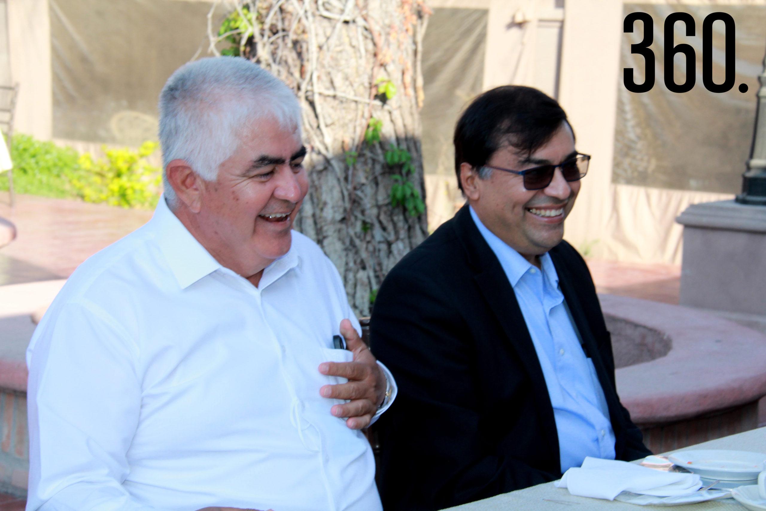 Ricardo López Campos y Gregorio Pérez Mata.