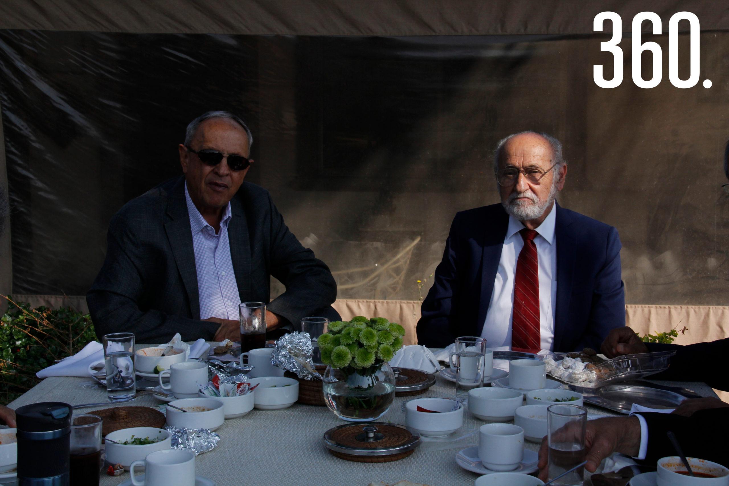Javier Garza y Antonio Nasib Harb Karam.