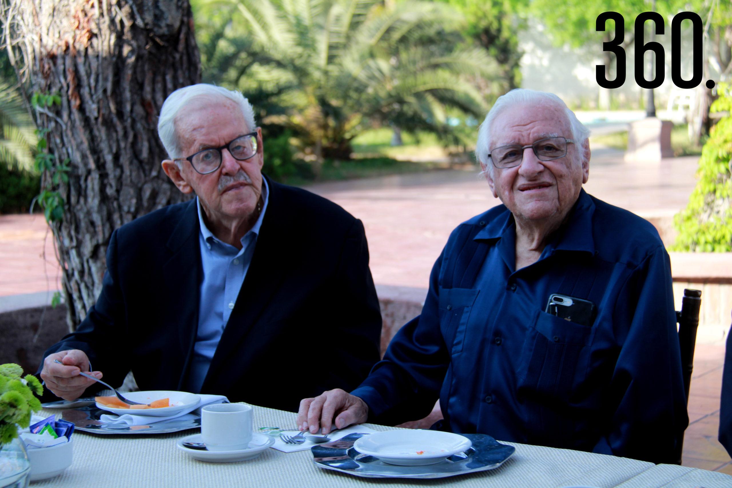José Fuentes García y Armando Fuentes Aguirre.