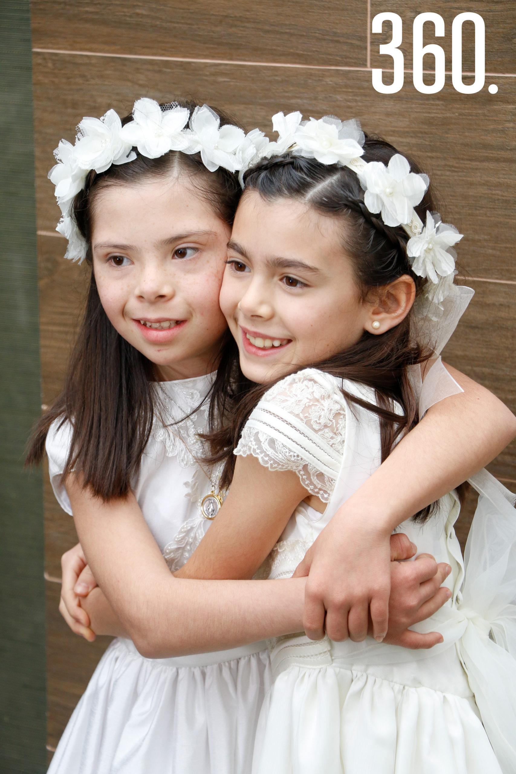 Natalia y Bárbara Basáñez.