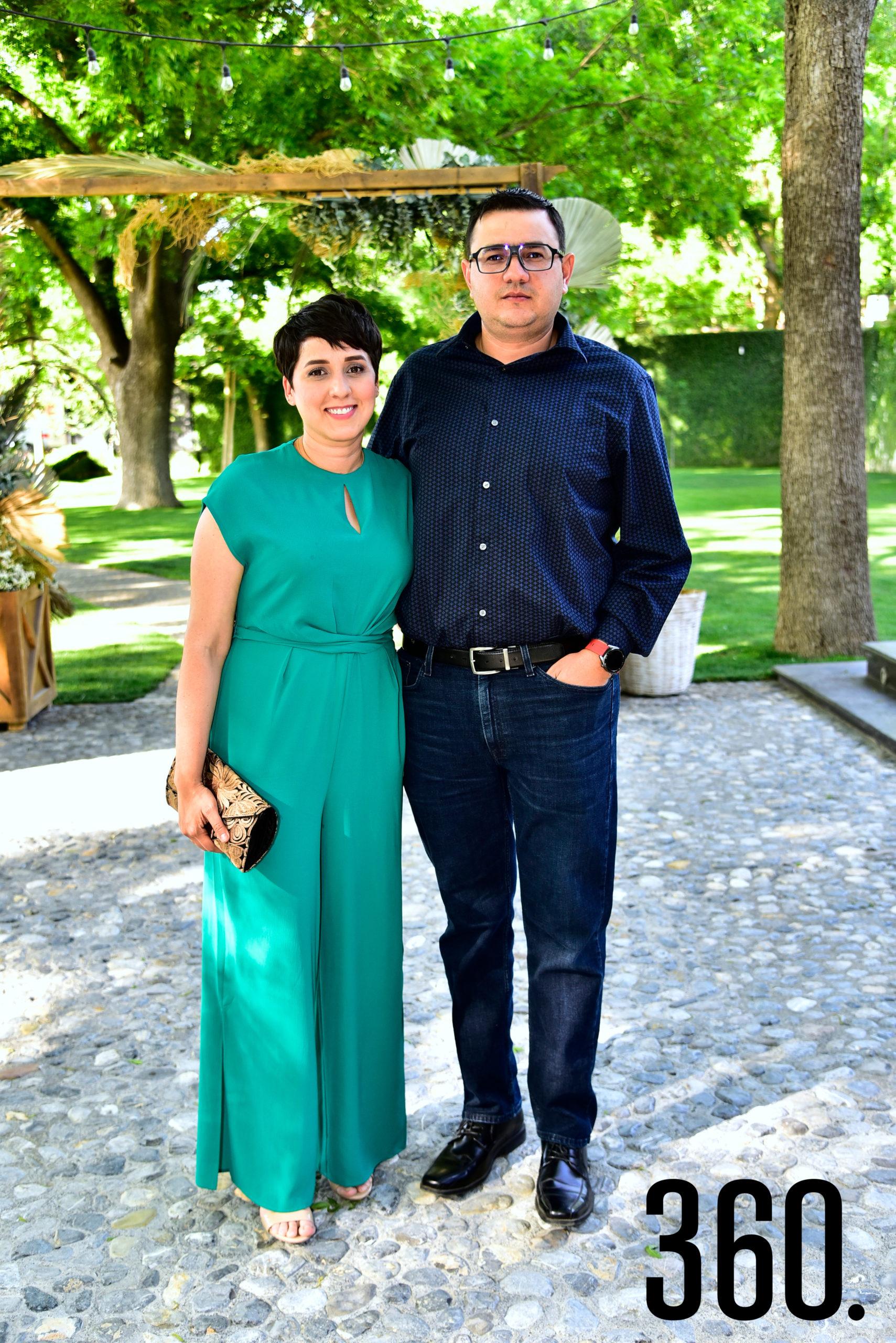 Paola Tejeda y Mario Guerra.
