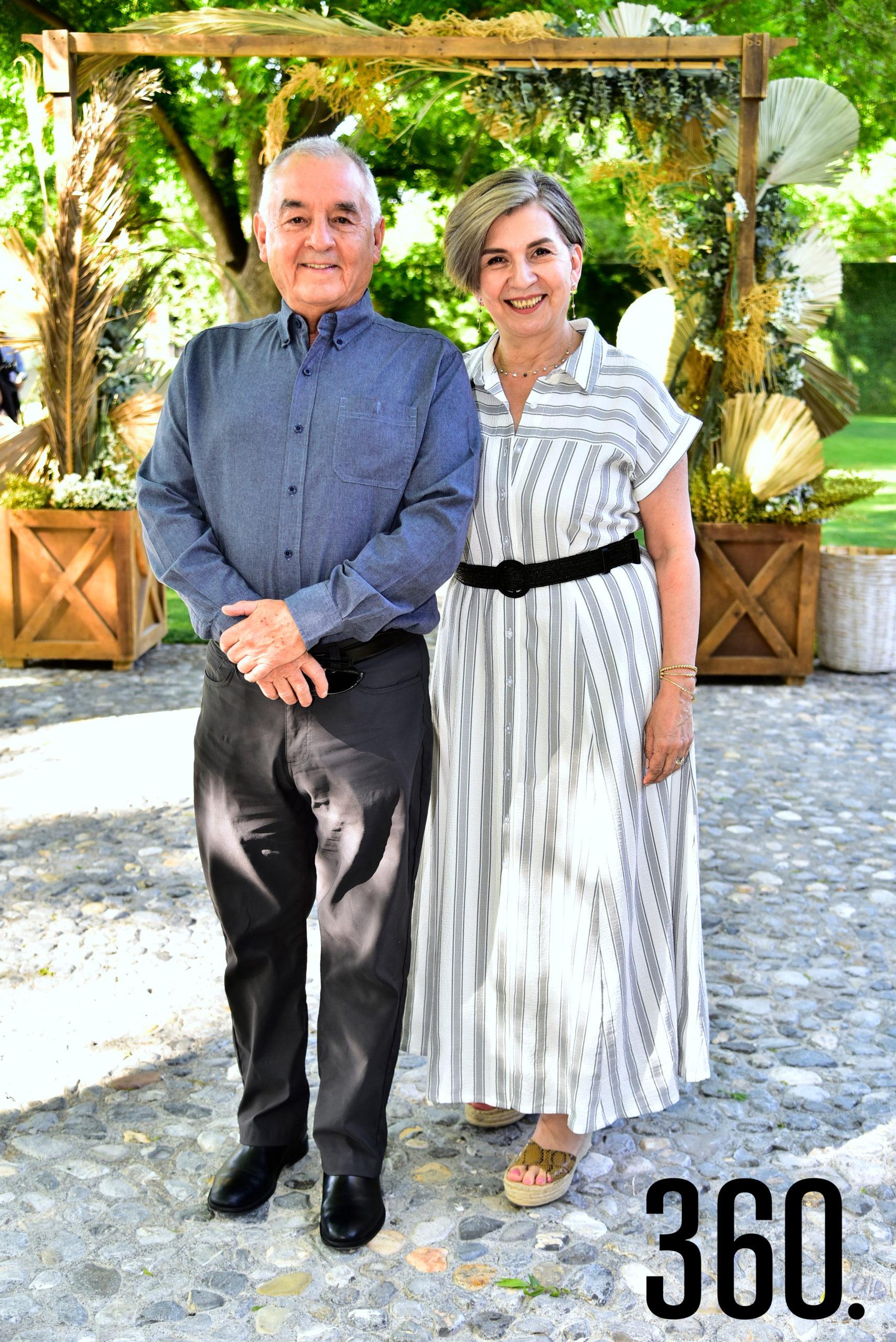 Rubén Rodríguez y Amparo Hernández.