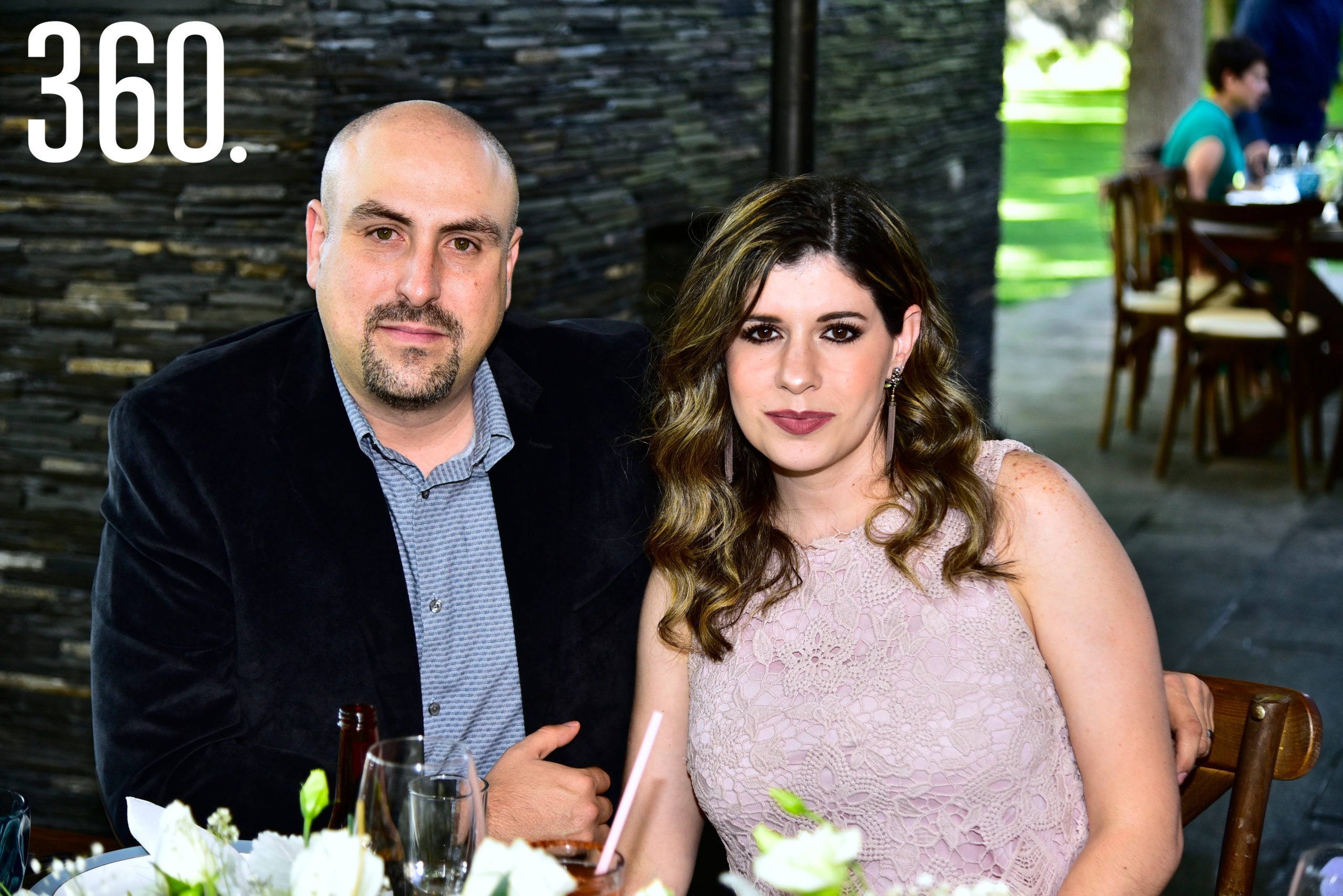 Daniel Mendiola y Natalia Villalobos.