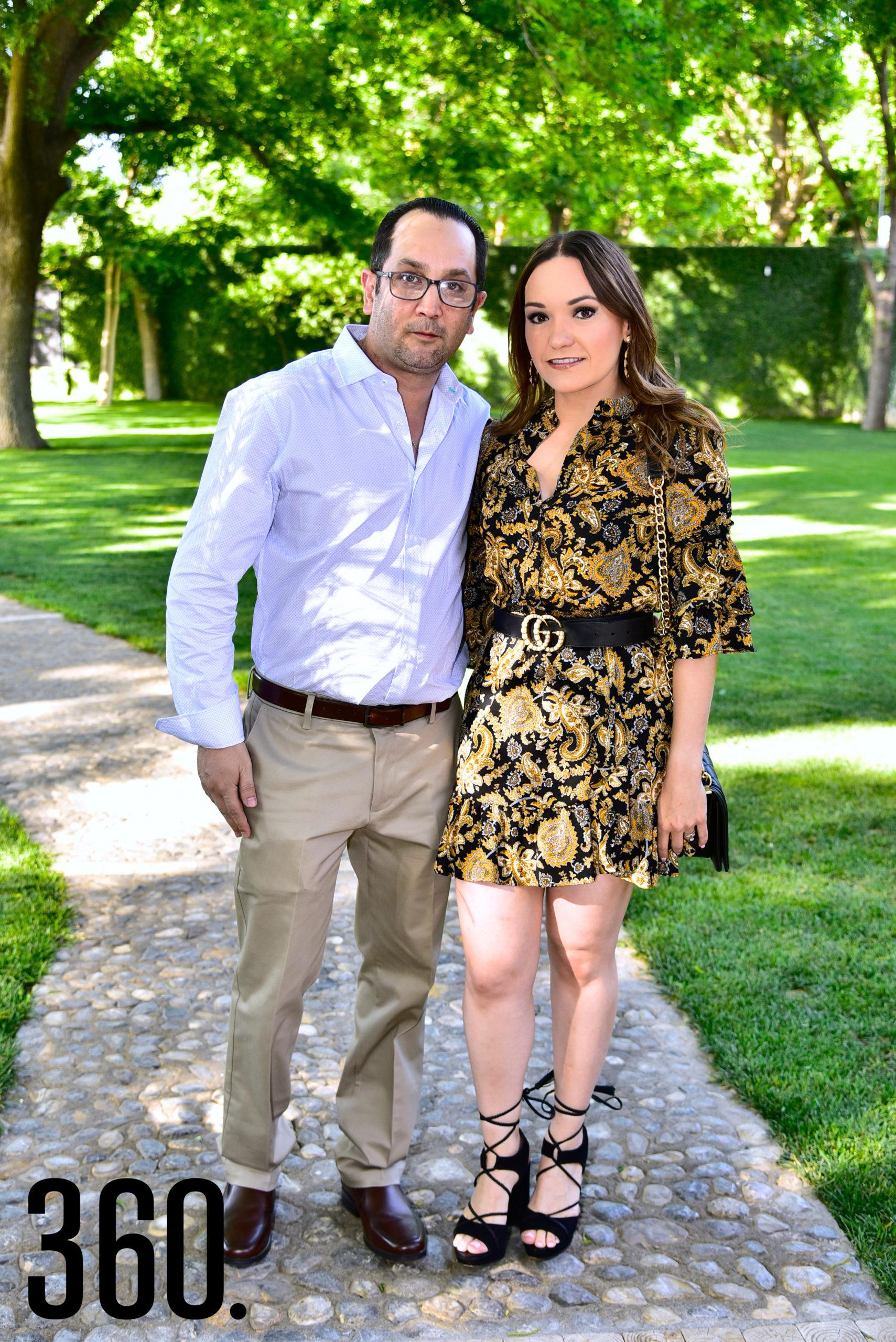 Eduardo Hernández y Ana Laura Cárdenas.