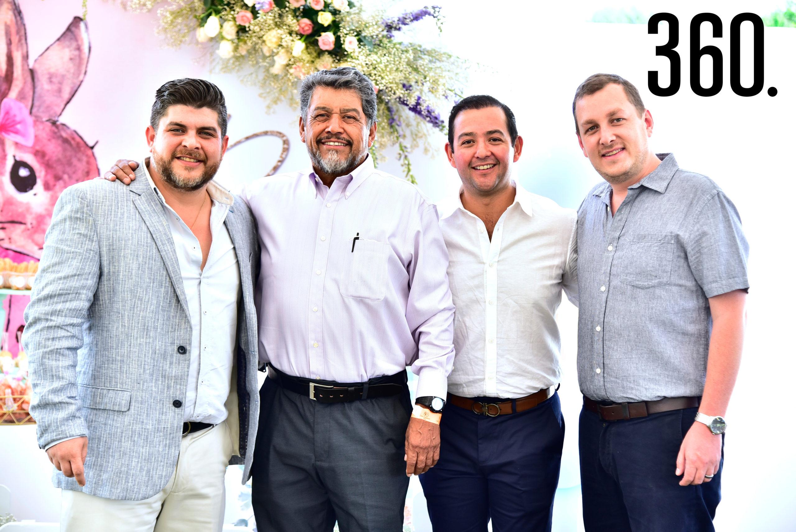Mauro Garza, José Luis Pérez, José Luis Pérez y Fernando Carrillo.