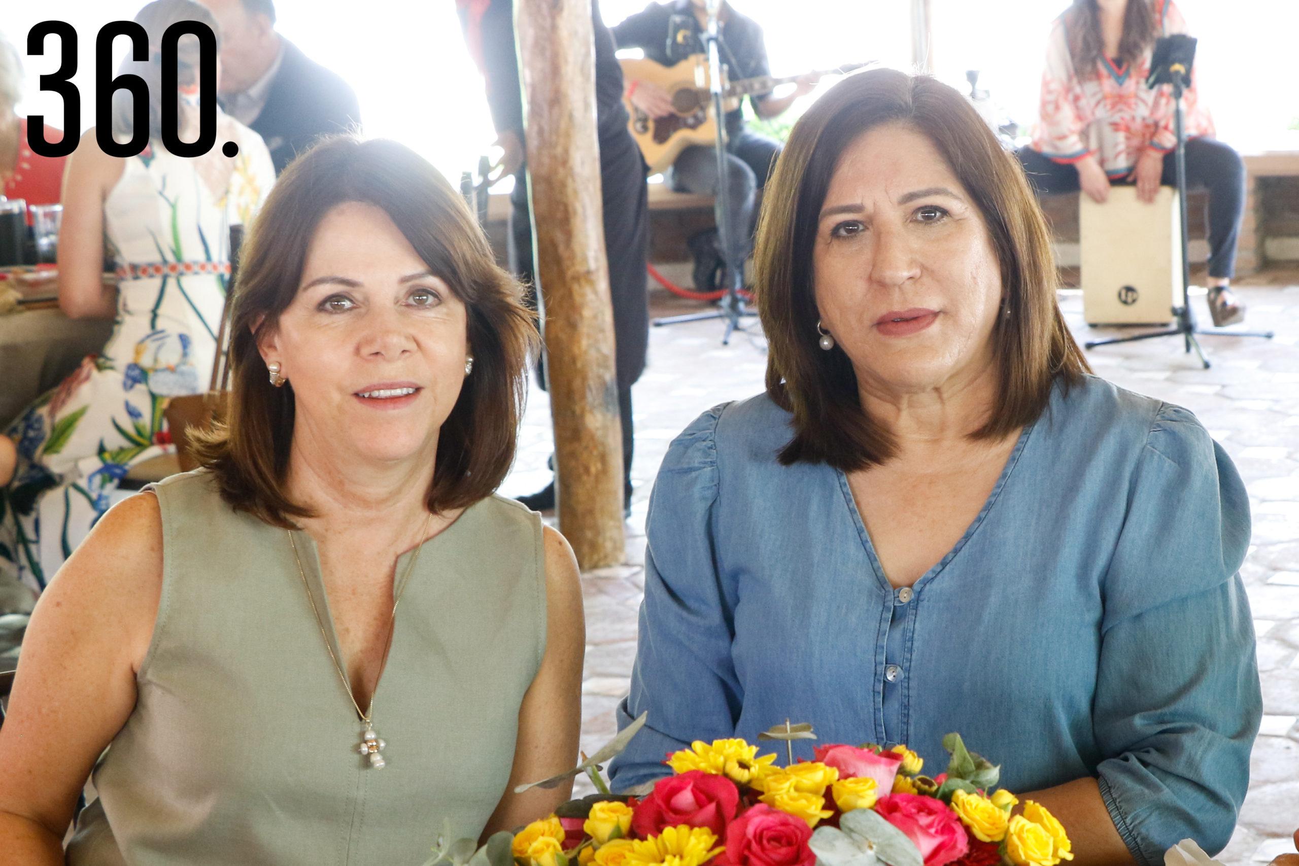 Camila Guajardo y María Elena del Bosque.