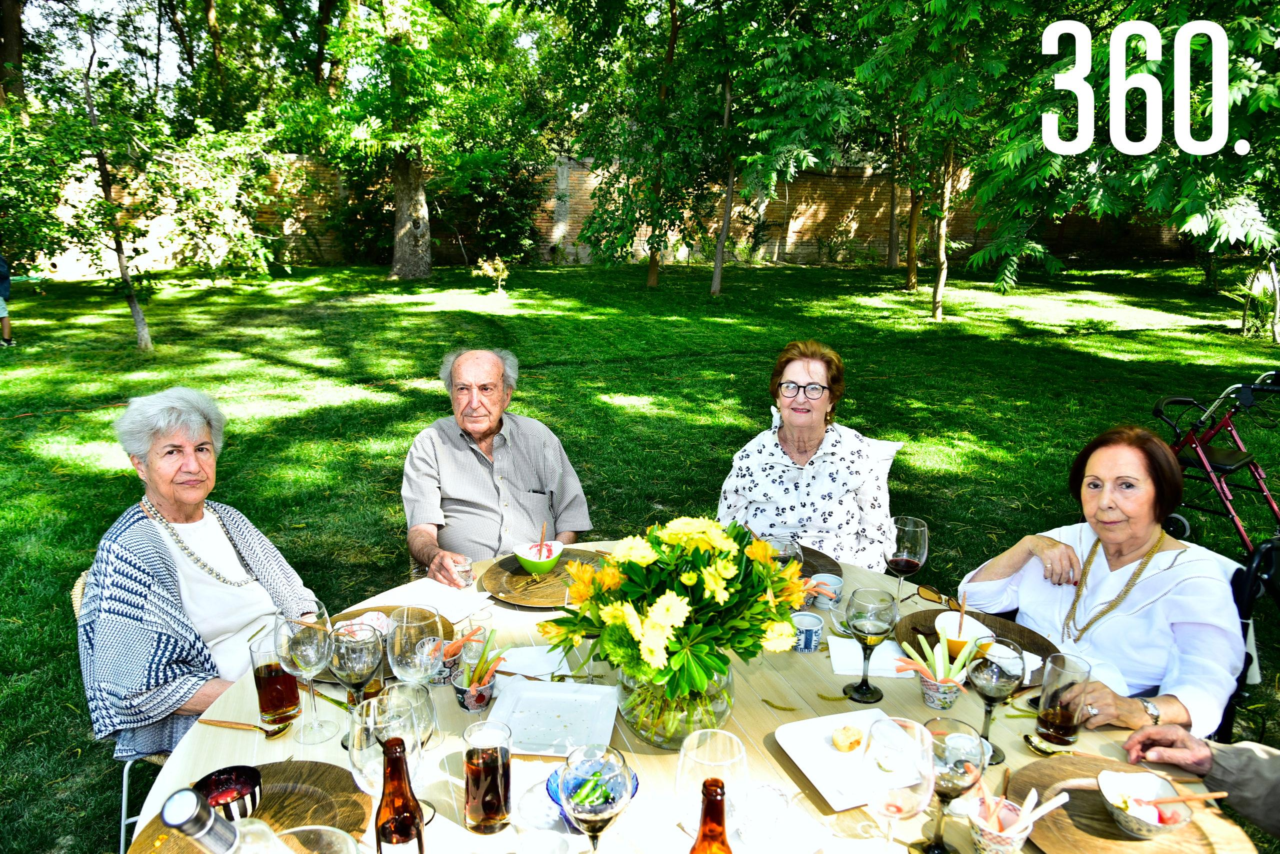 Angélica Torres, Enrique Torres, Beatriz Arsuaga y Tete de las Fuentes.