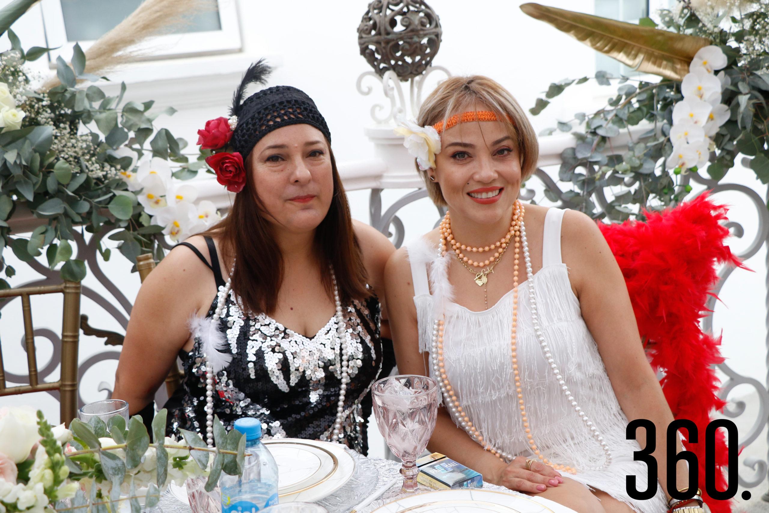 Judith Rojo y Gaby Martínez.