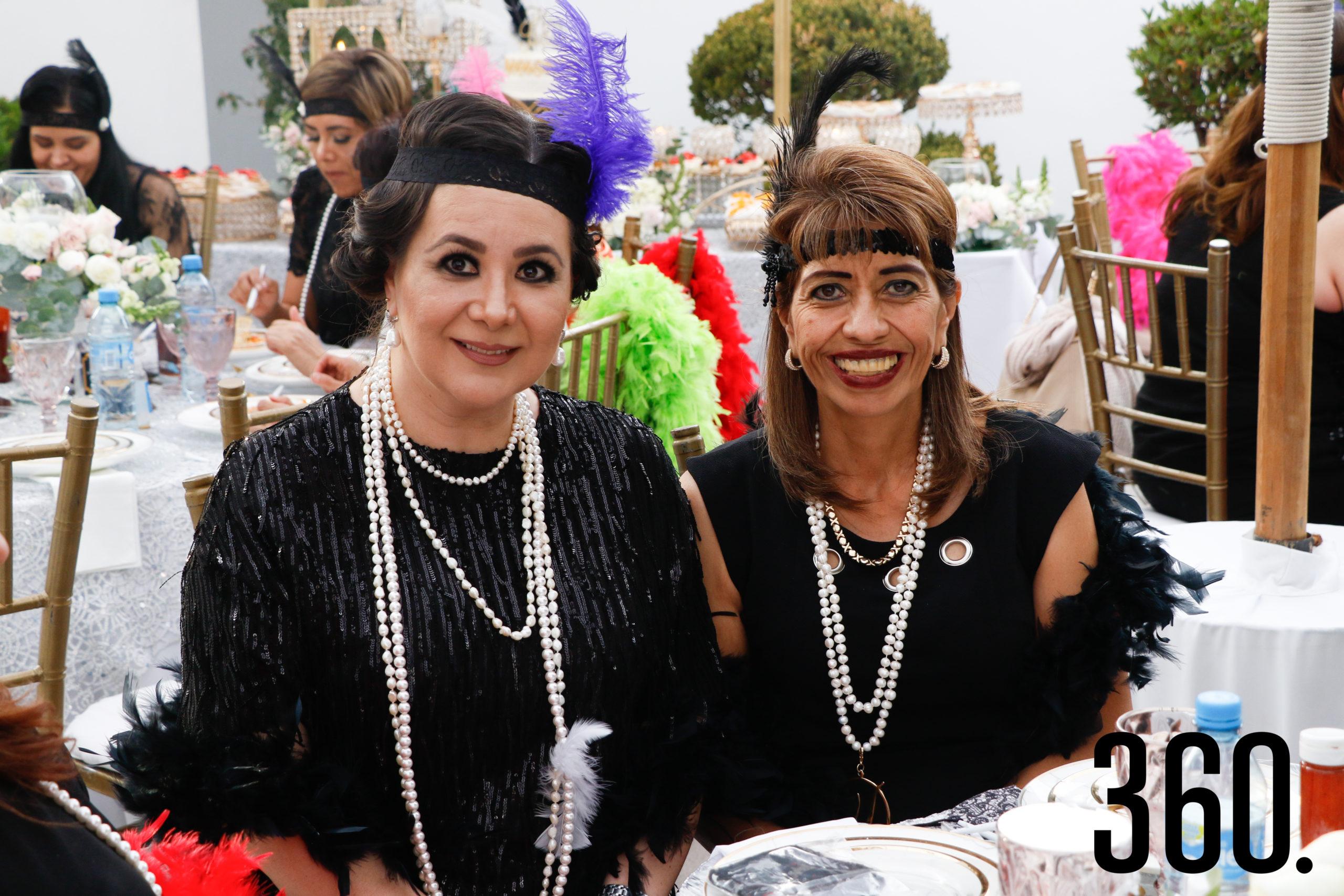 Rosalba Espino y Doris García.