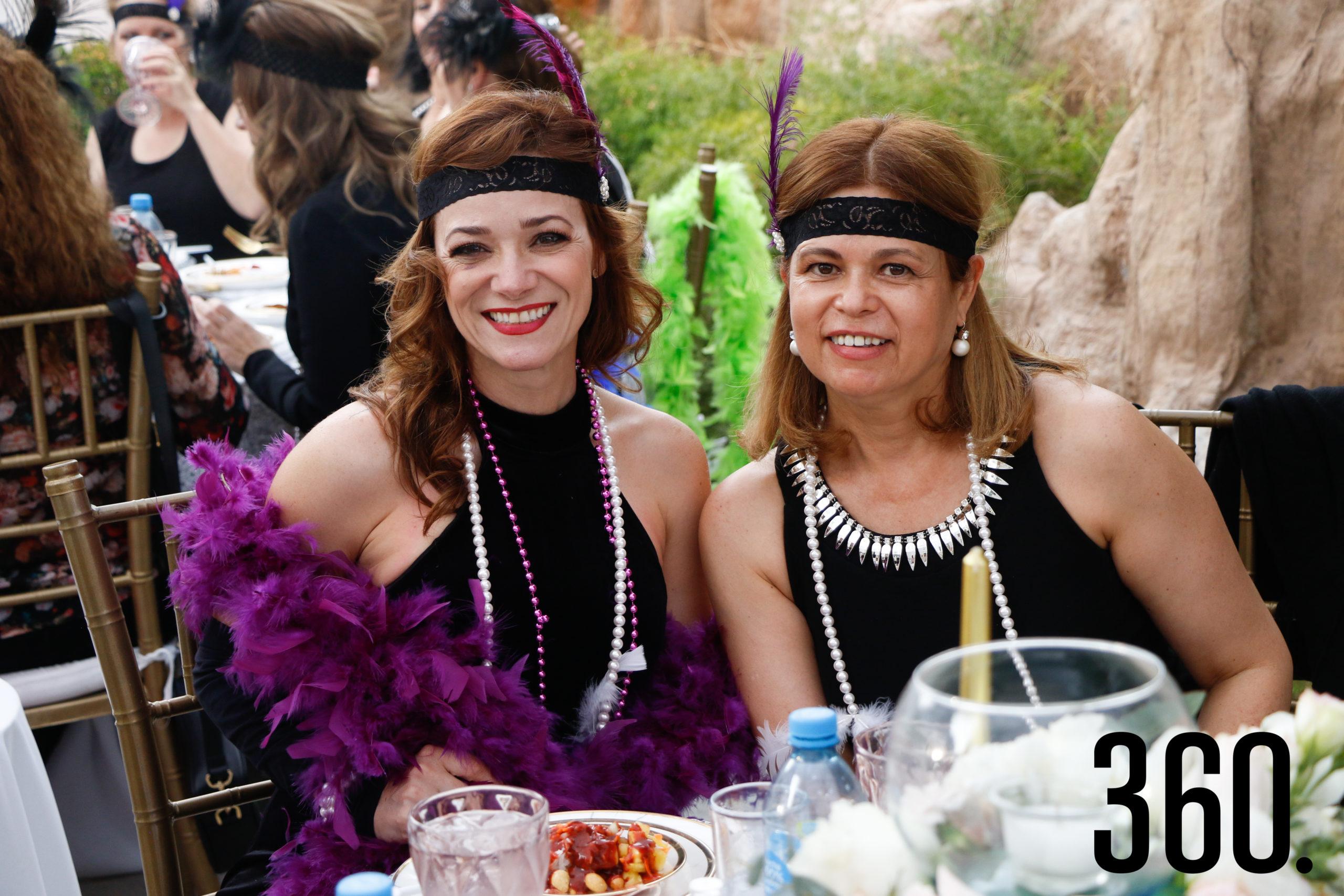 Dalia Ferriño y Mariza Cárdenas.