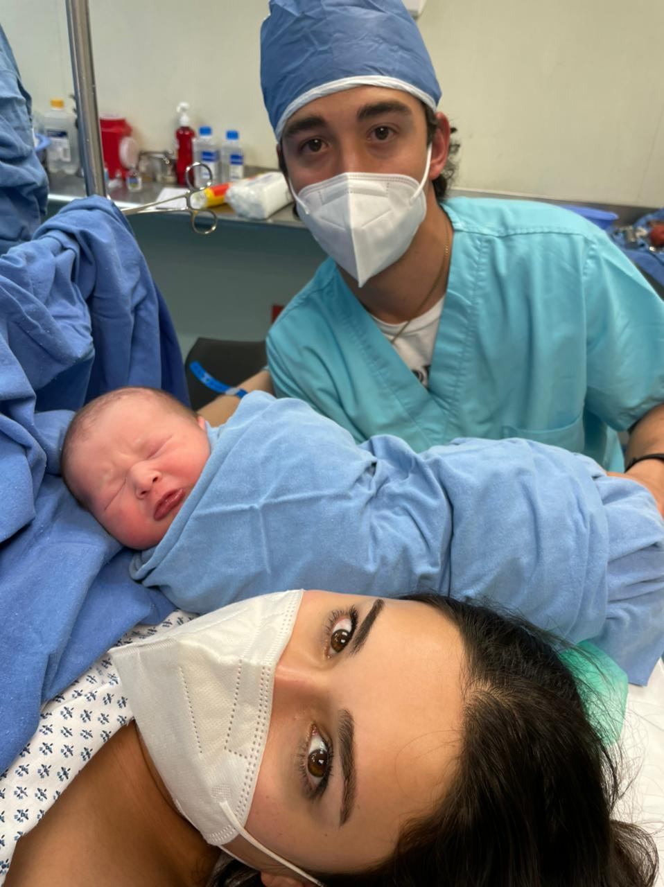 Álvaro es el primogénito del matrimonio Morales Garza.