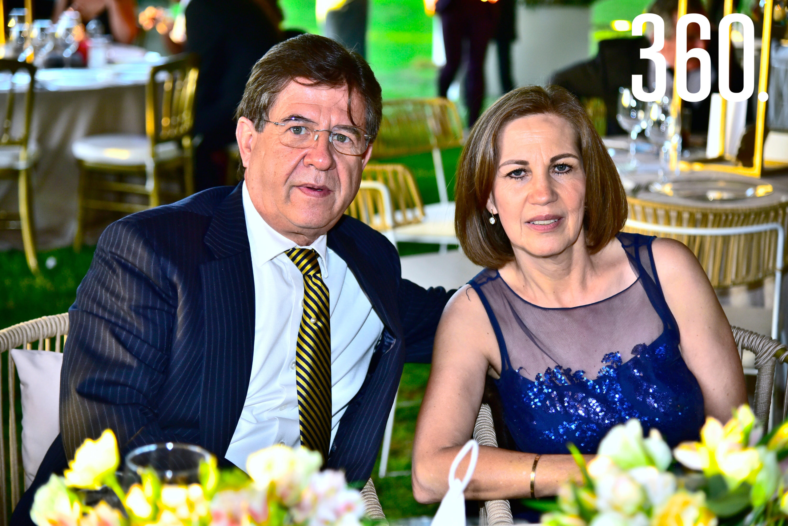Rodolfo Gutiérrez y Magdalena Arsuaga.